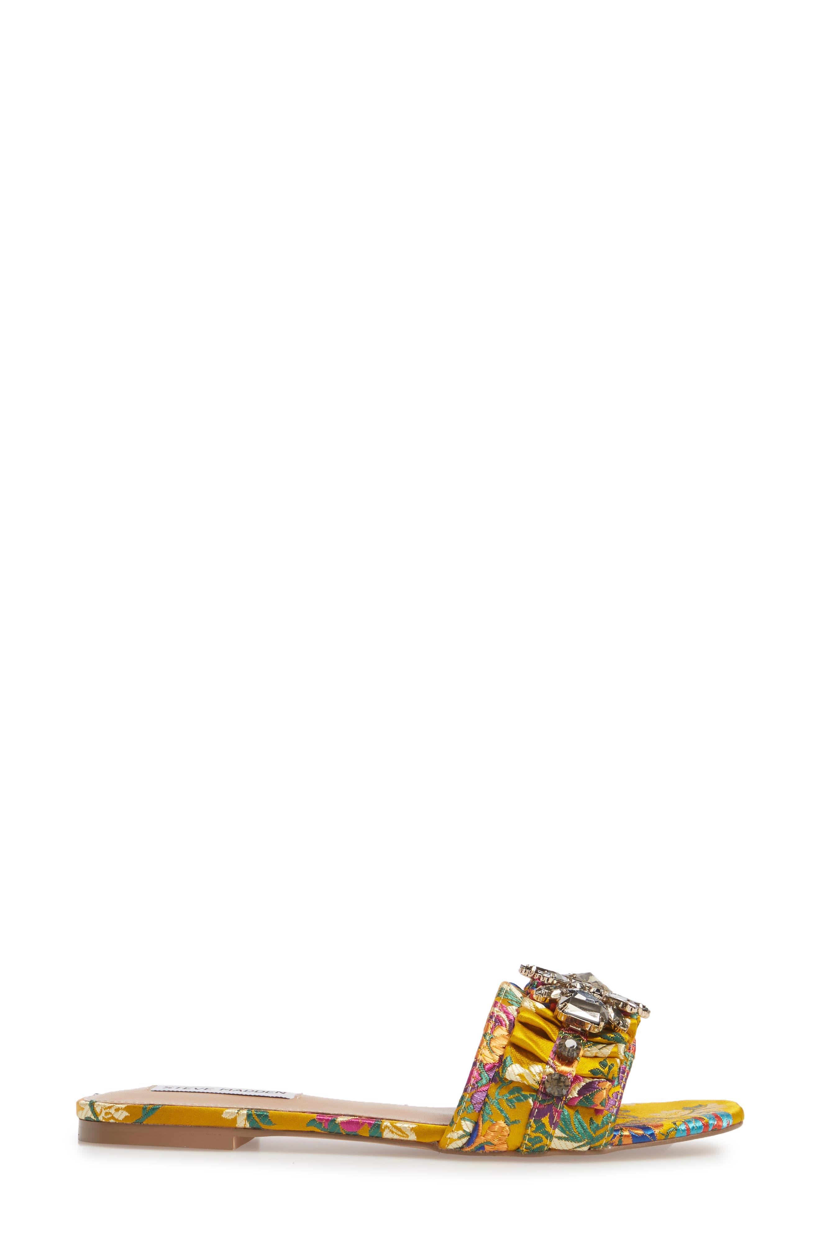 Alternate Image 3  - Steve Madden Pomona Crystal Embellished Slide Sandal (Women)