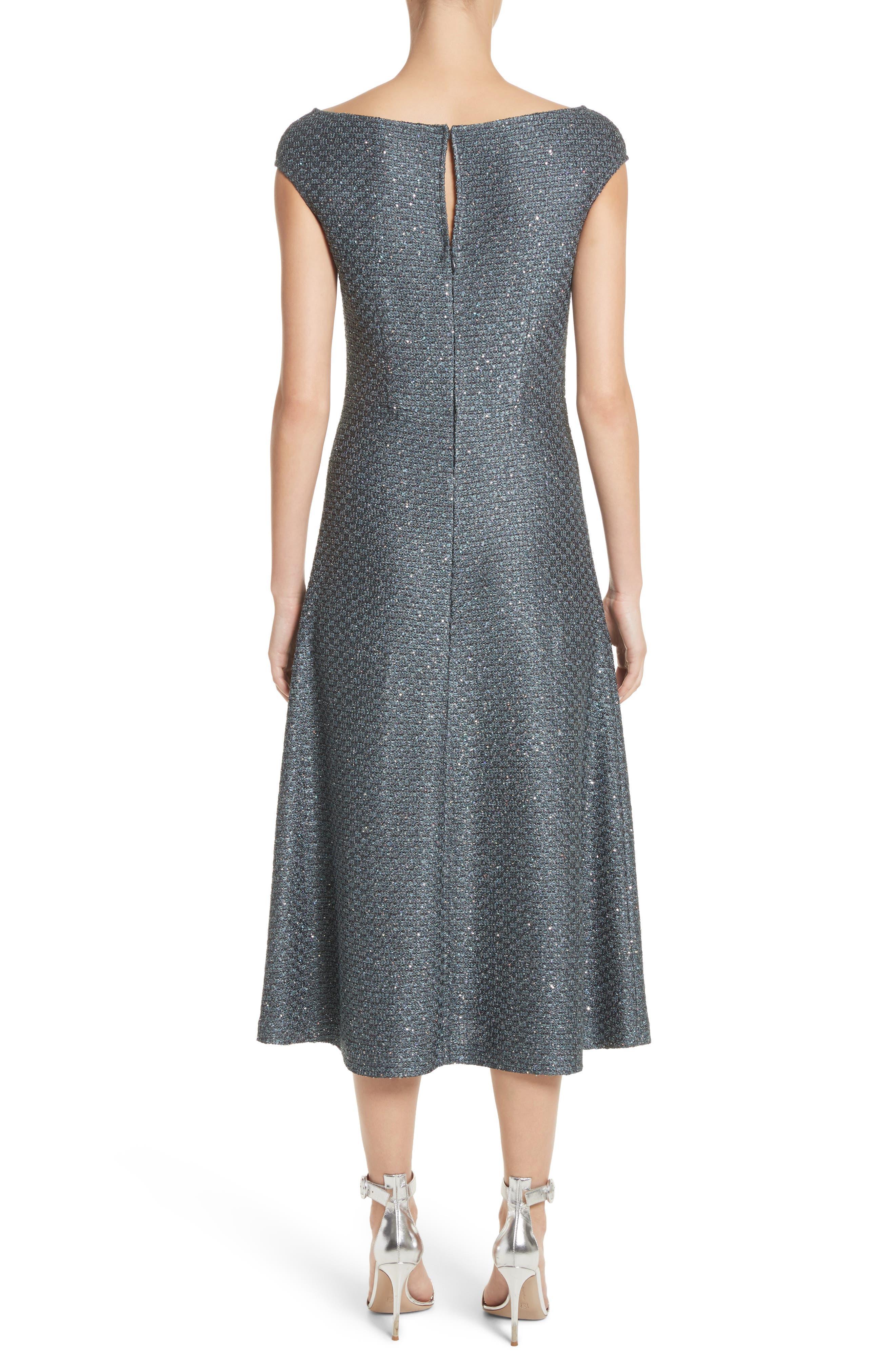Alternate Image 2  - St. John Collection Sequin Knit Midi Dress