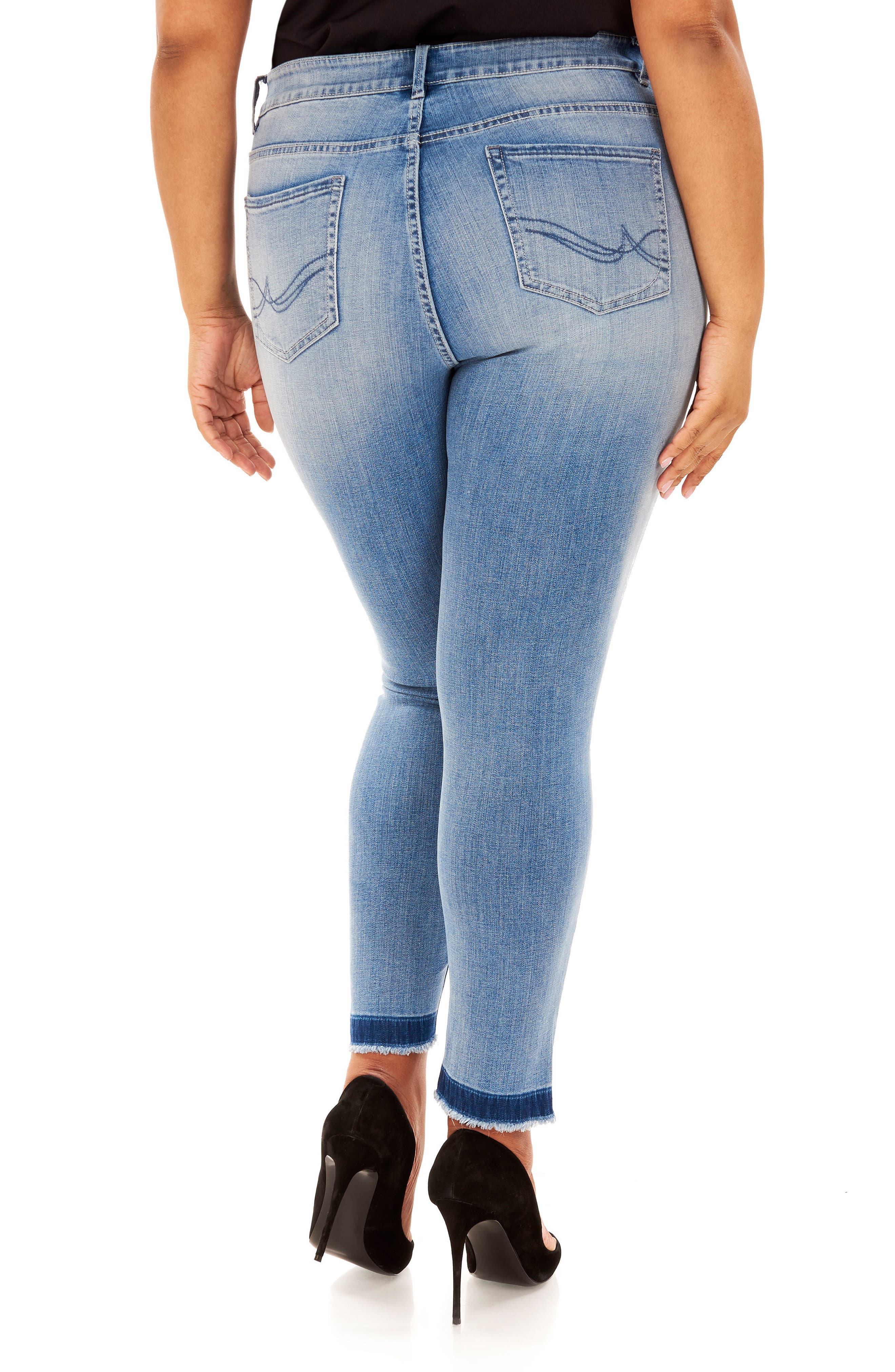 The Cruiser Ankle Skinny Jeans,                             Alternate thumbnail 2, color,                             Arcadia