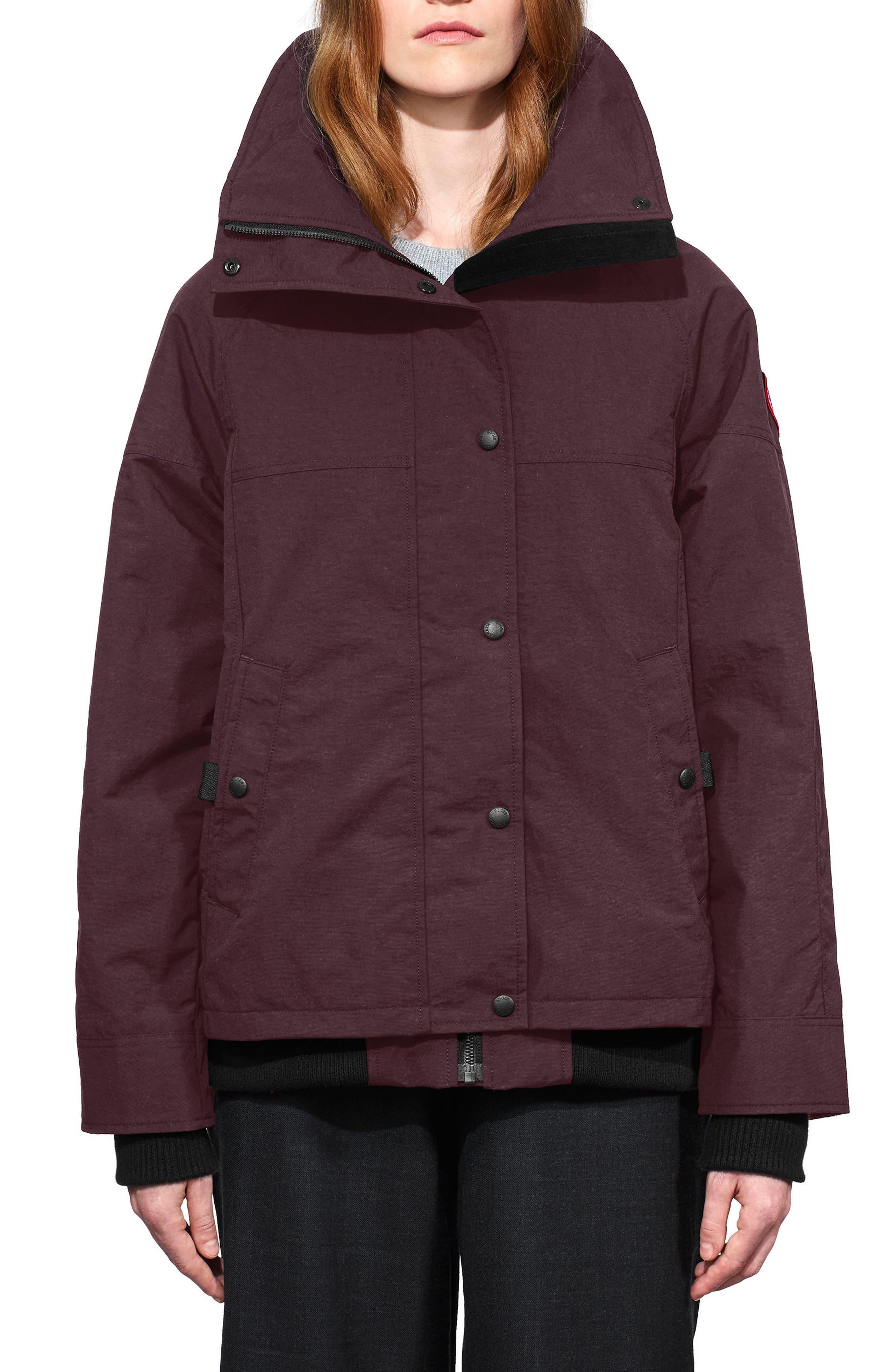 Chinook Jacket,                         Main,                         color, Wellington Grape
