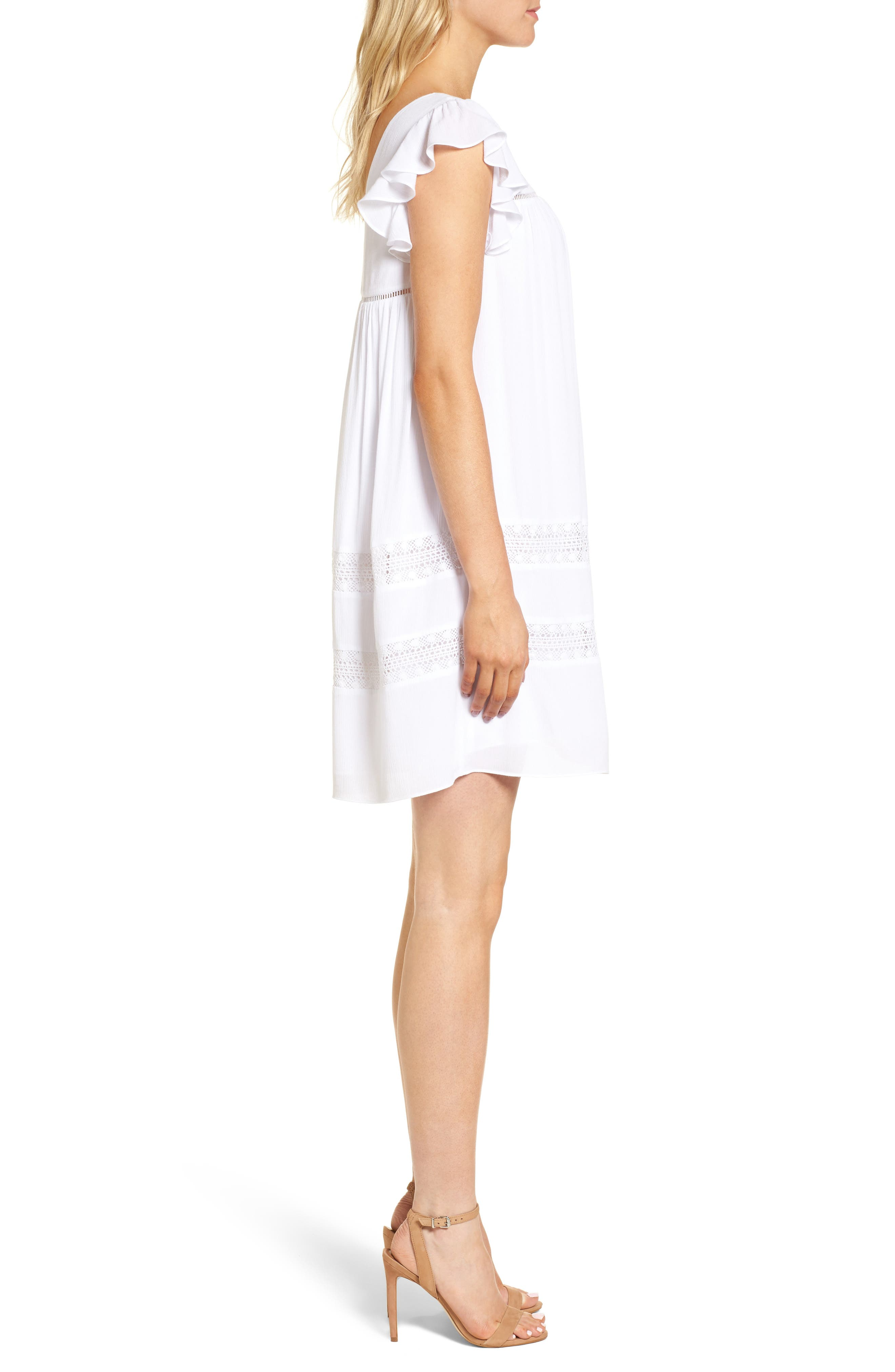 Boca Dress,                             Alternate thumbnail 3, color,                             White