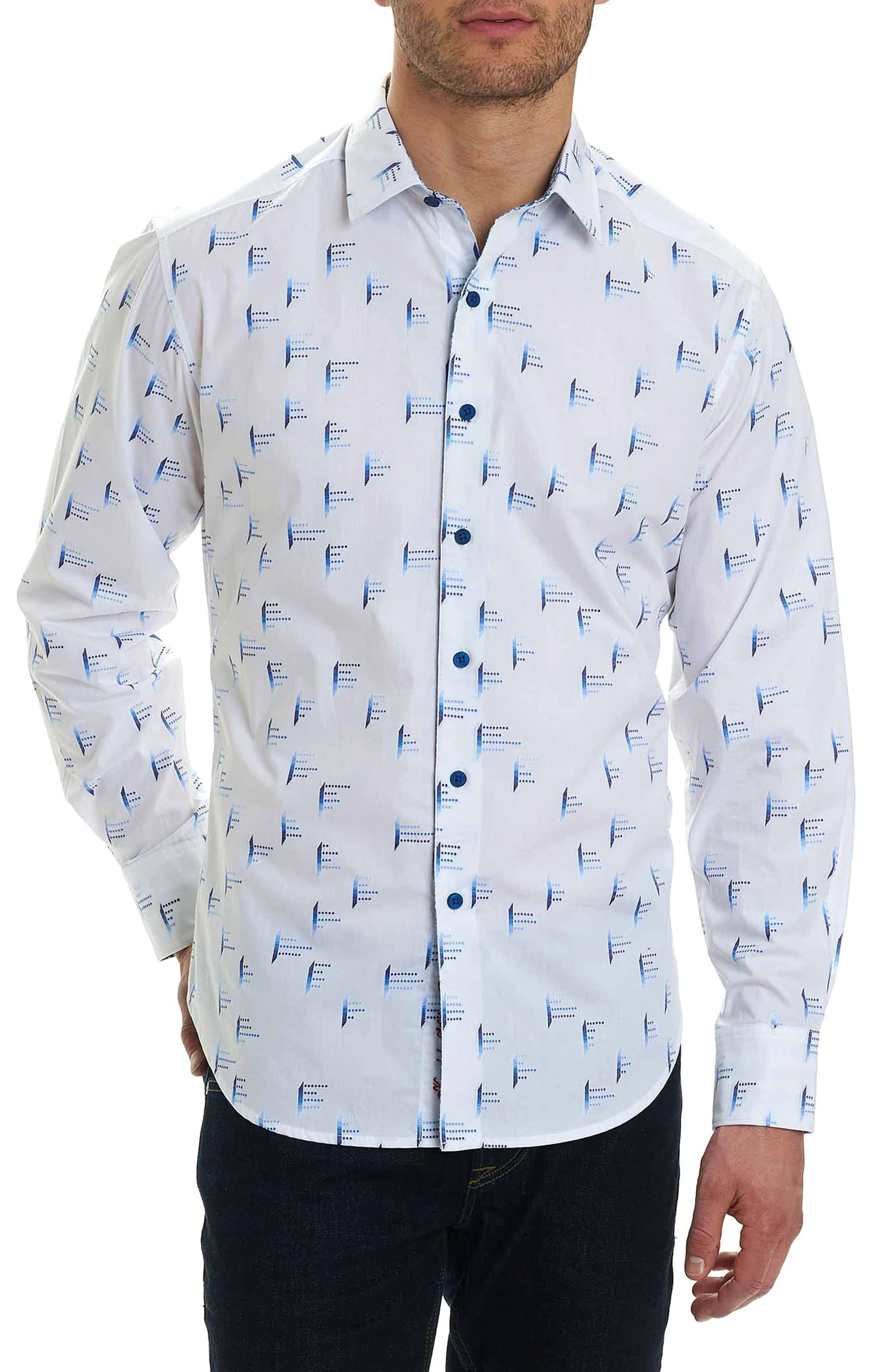Reid Classic Fit Sport Shirt,                             Main thumbnail 1, color,                             White