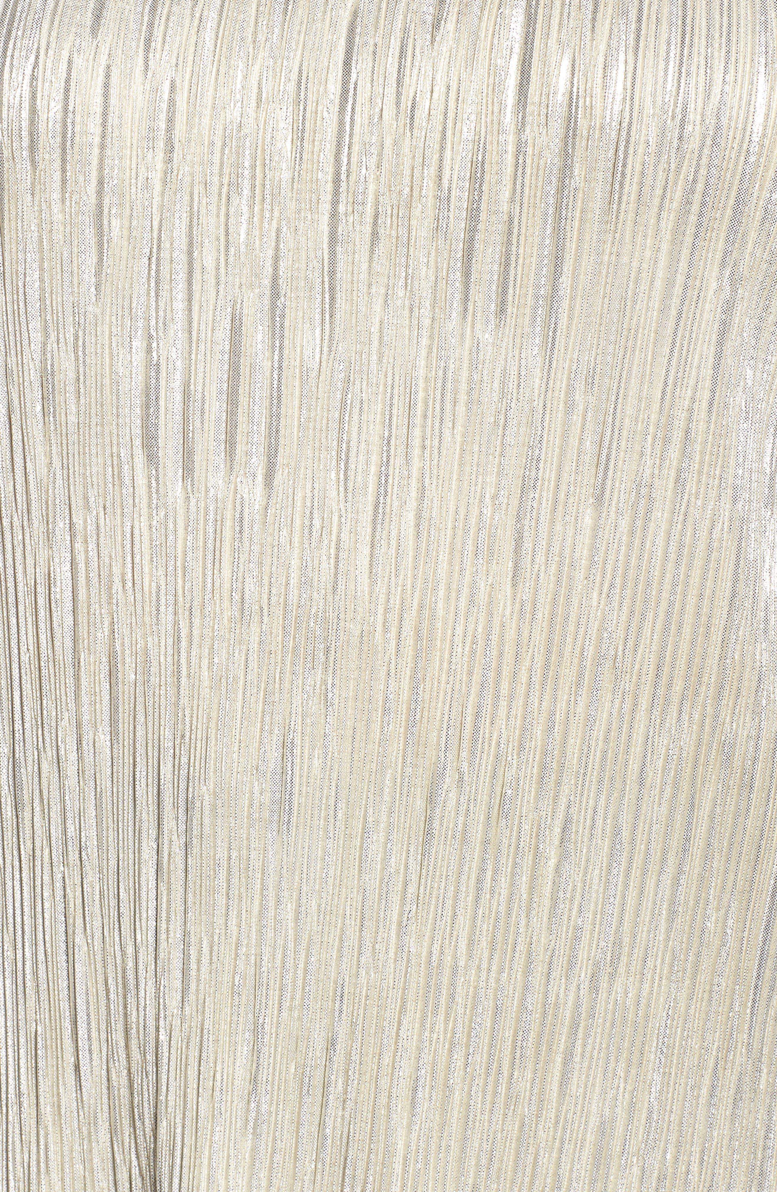 Alternate Image 5  - Dantelle Ribbed Foil Top (Plus Size)