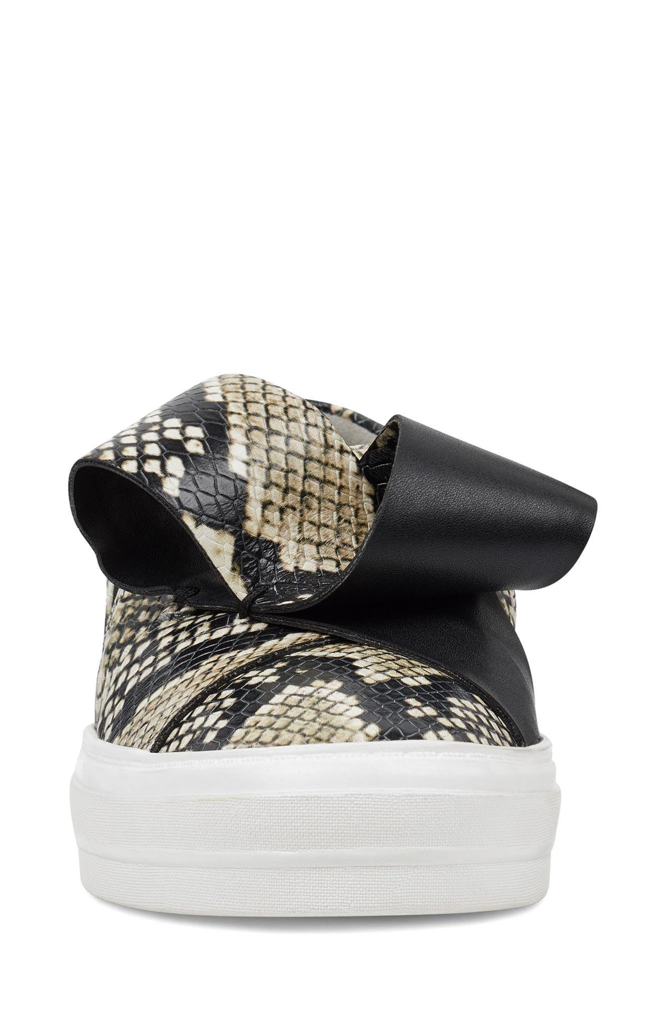 Odienella Slip-On Sneaker,                             Alternate thumbnail 4, color,                             Off White Multi Leather