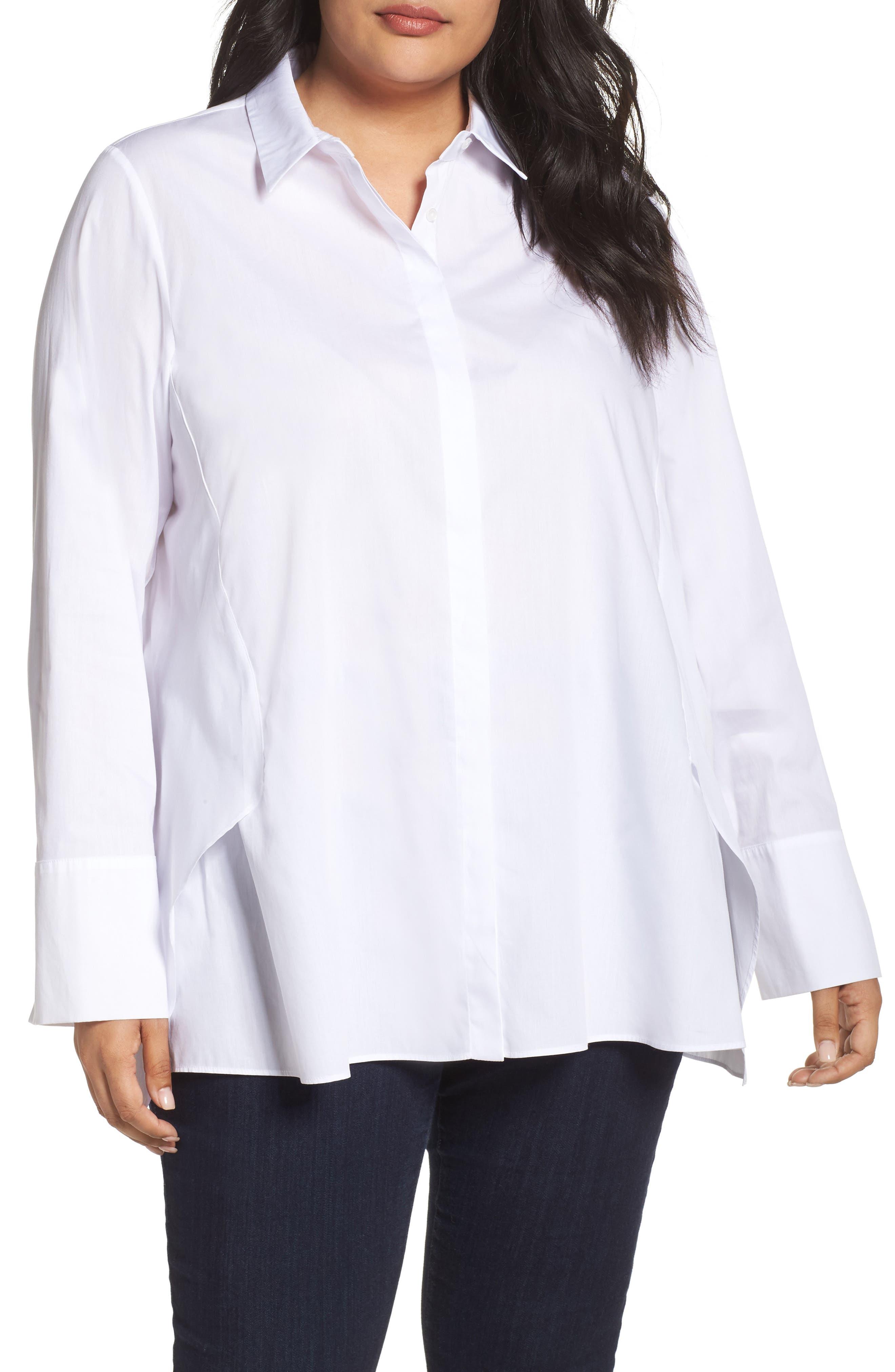 Fato Shirt,                             Main thumbnail 1, color,                             White
