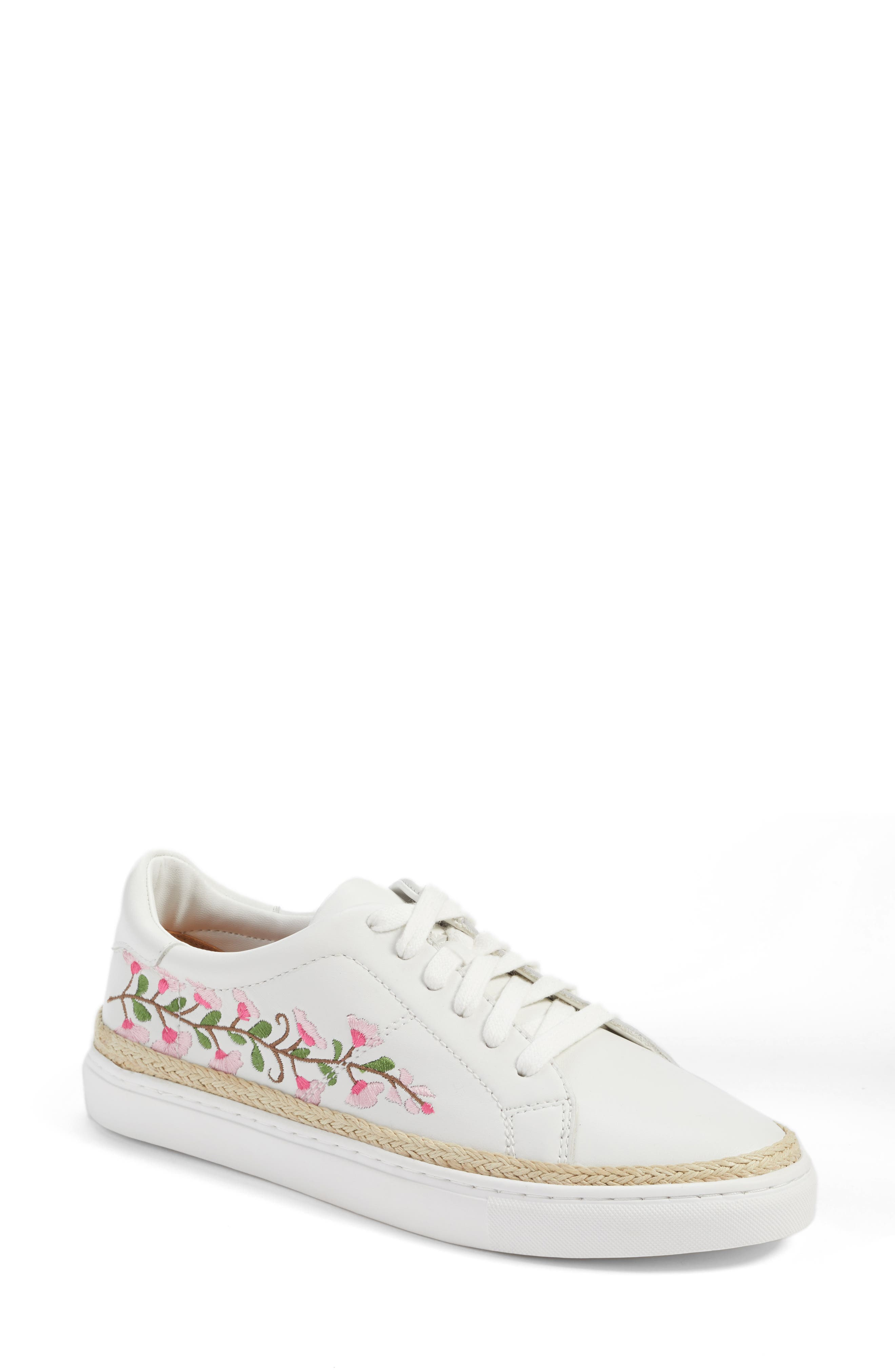 Caslon® Perry Lea Embroidered Sneaker (Women)