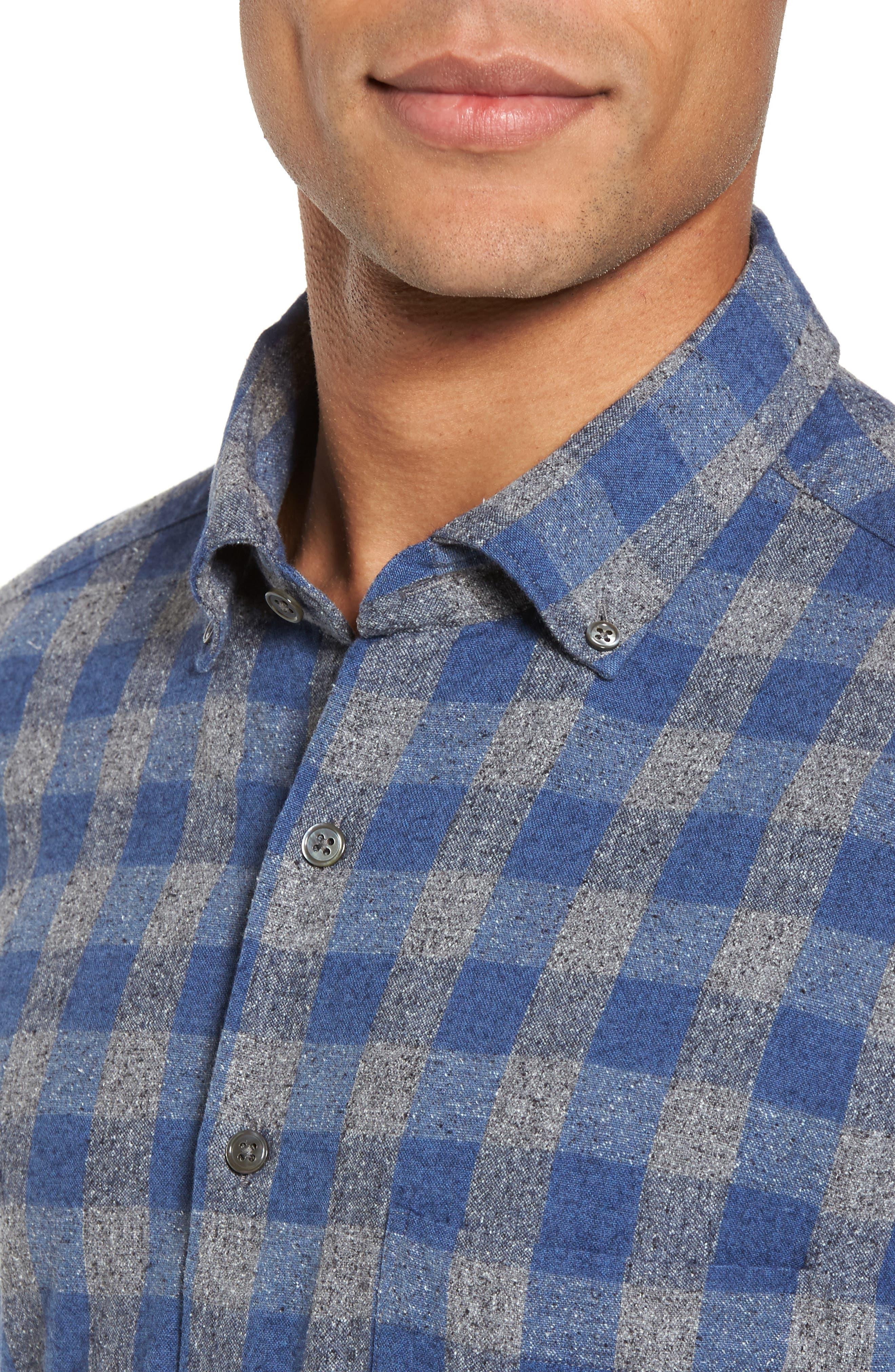 Alternate Image 4  - Rodd & Gunn Avon River Sports Fit Check Flannel Shirt