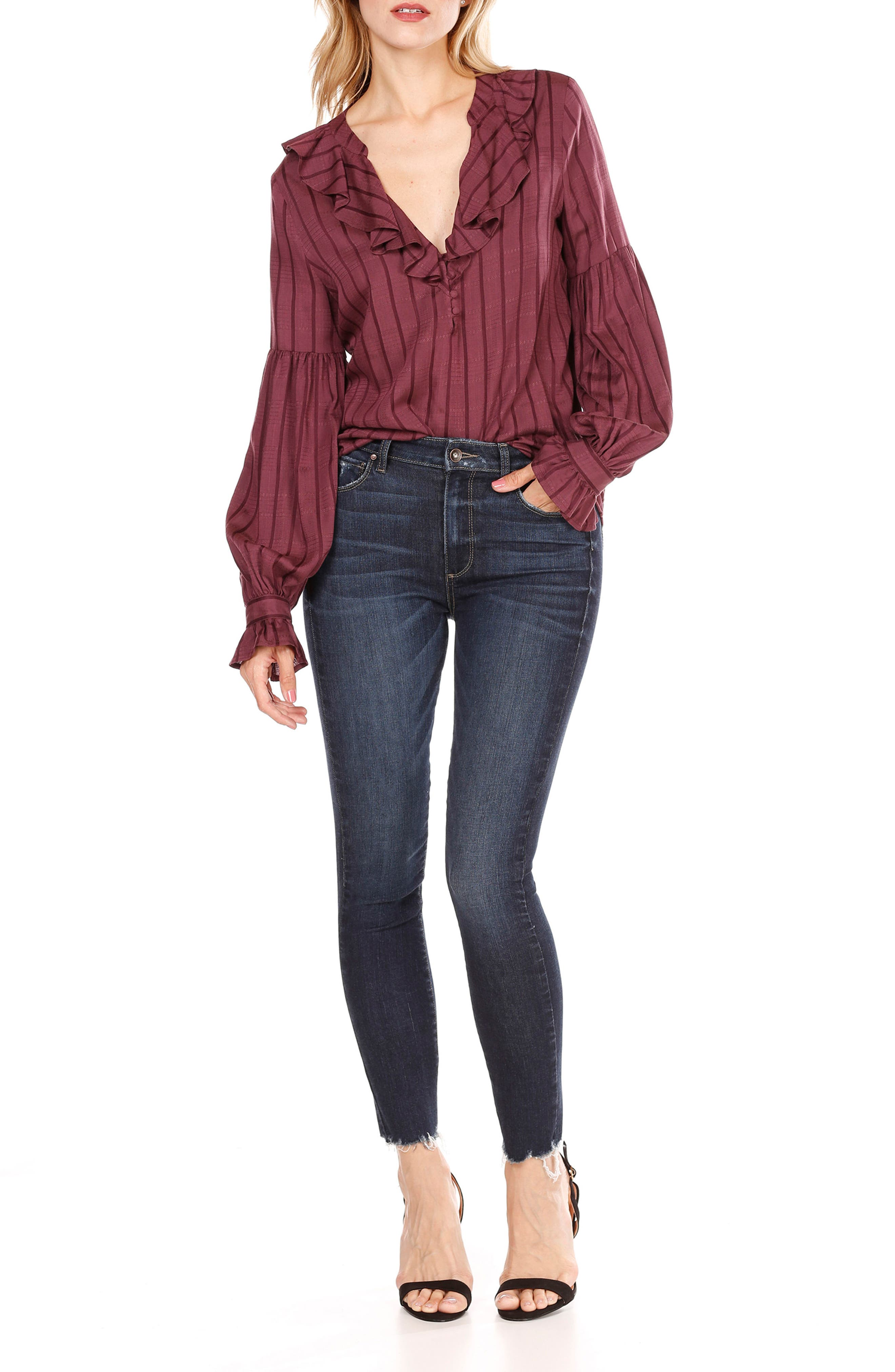 Alternate Image 3  - PAIGE Russo Ruffle Blouse