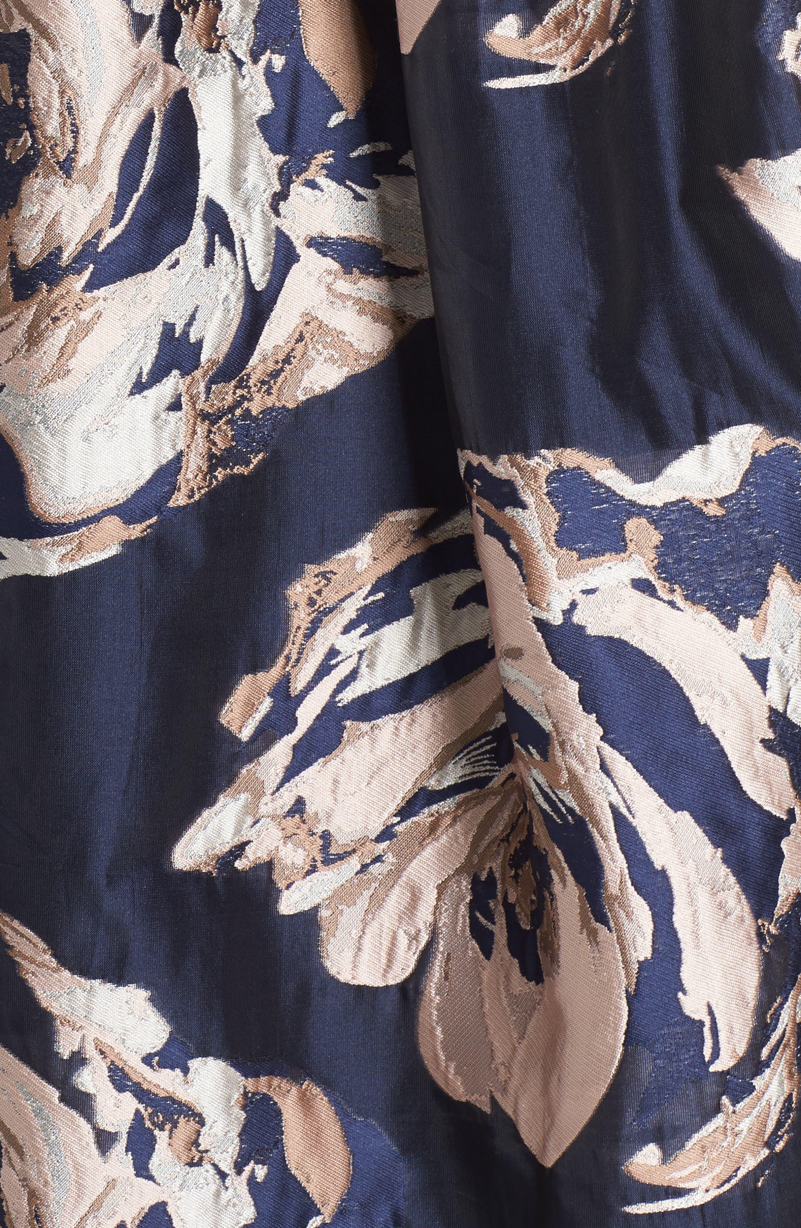 Alternate Image 5  - Eliza J Embellished Floral Ballgown