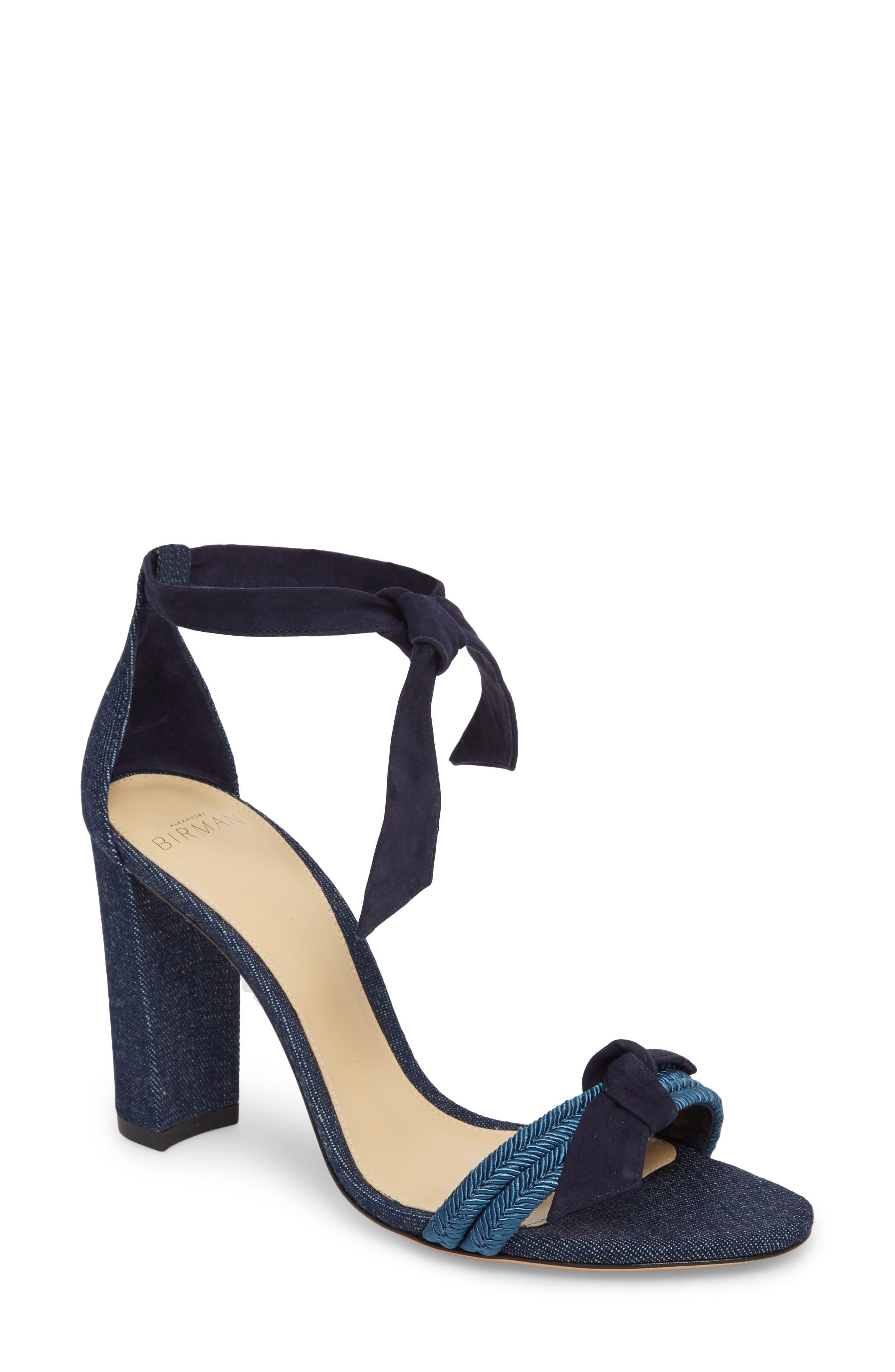 Clarita Sandal,                         Main,                         color, Denim