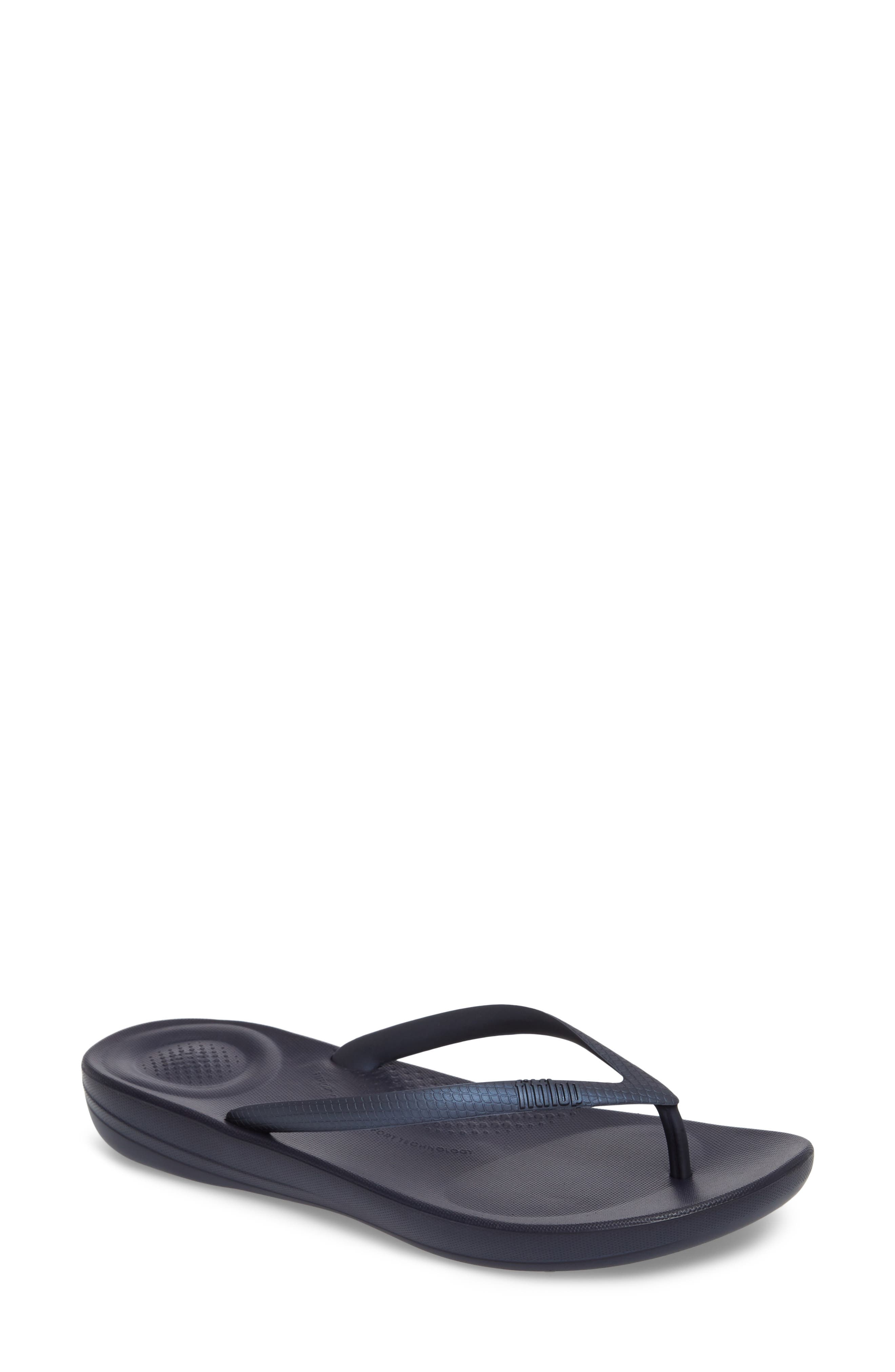 Alternate Image 1 Selected - FitFlop iQushion Flip Flop (Women)
