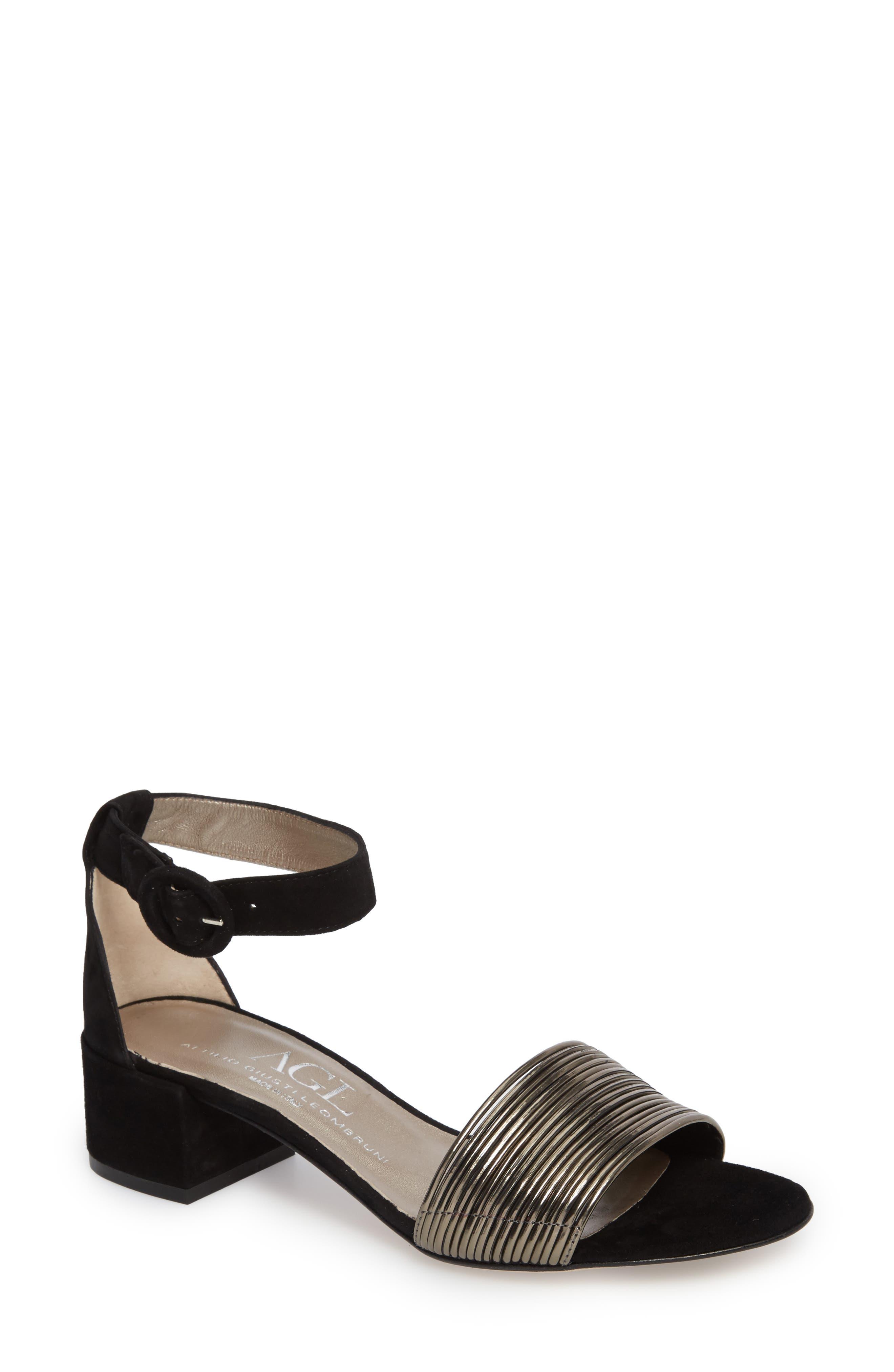 Alternate Image 1 Selected - AGL Ankle Strap Sandal (Women)