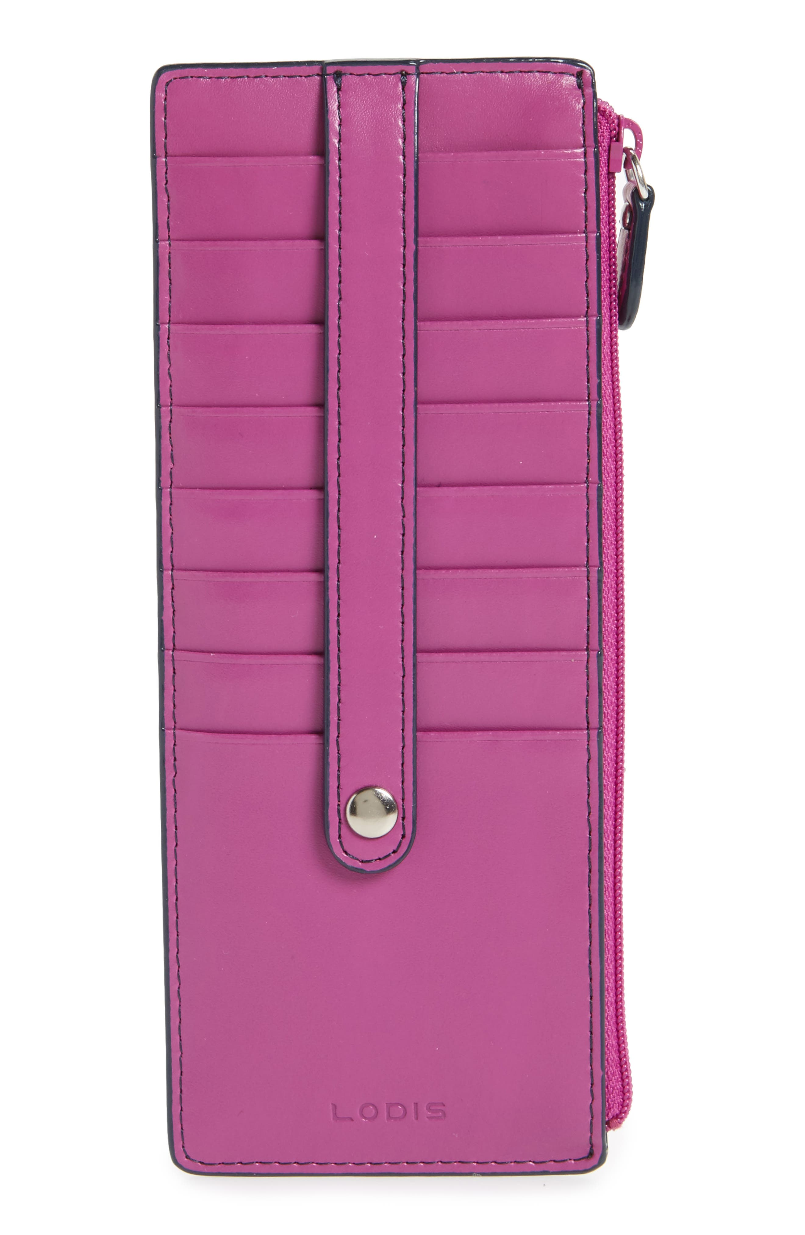 Alternate Image 1 Selected - Lodis Audrey RFID Leather Credit Card Case (Nordstrom Exclusive)