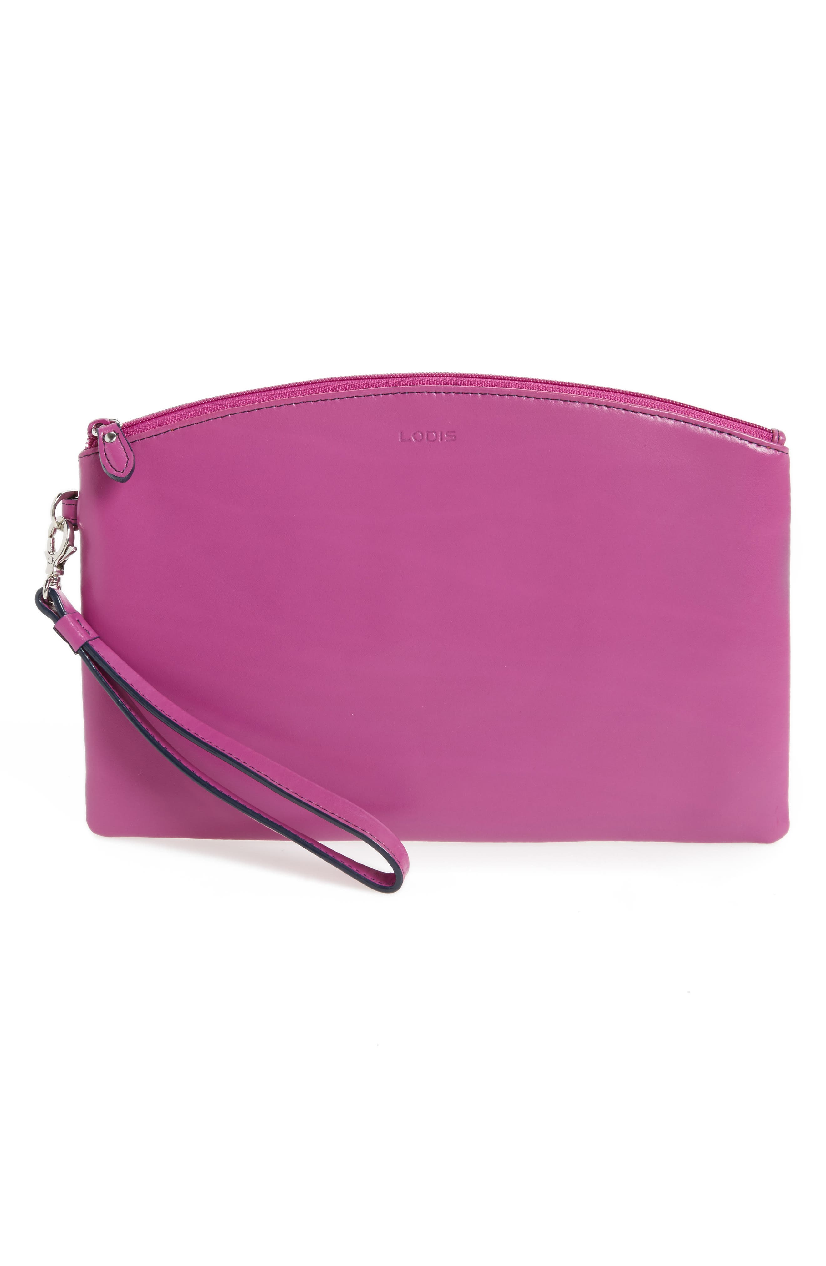 Lodis Miley Leather Wristlet