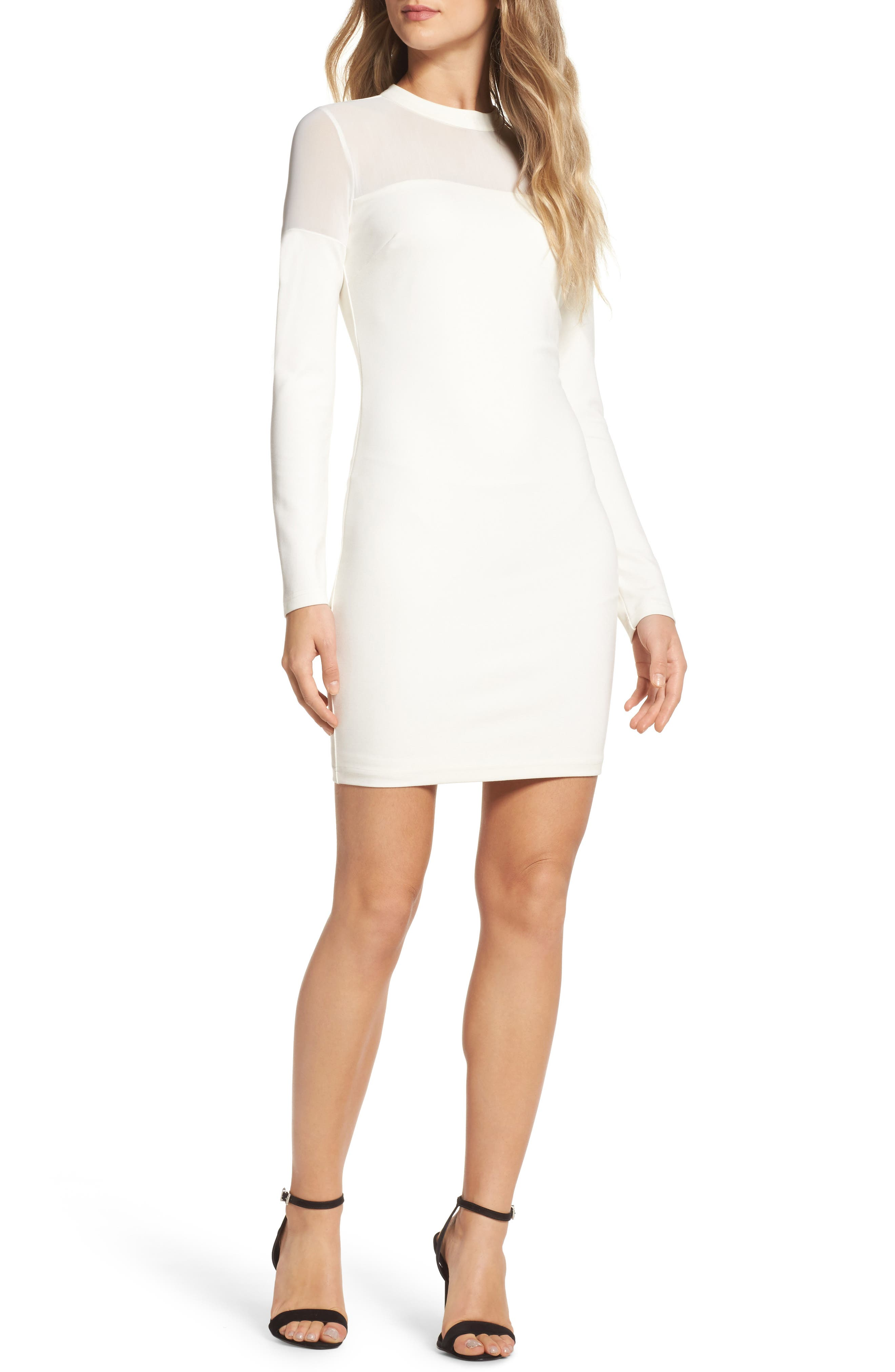 Outlaws Minidress,                         Main,                         color, Ivory