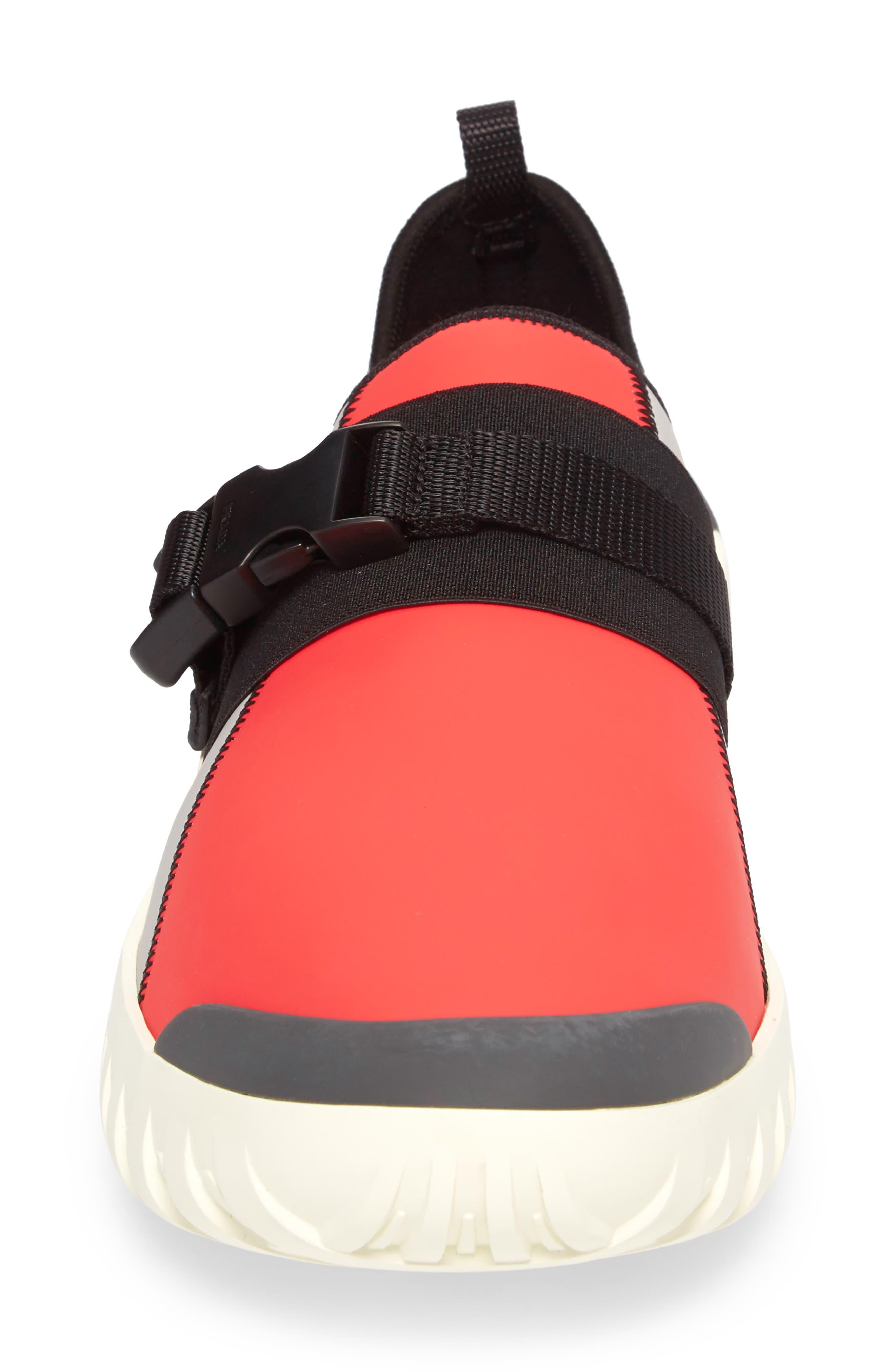 Linea Rossa Slip-On,                             Alternate thumbnail 4, color,                             Arancio Orange