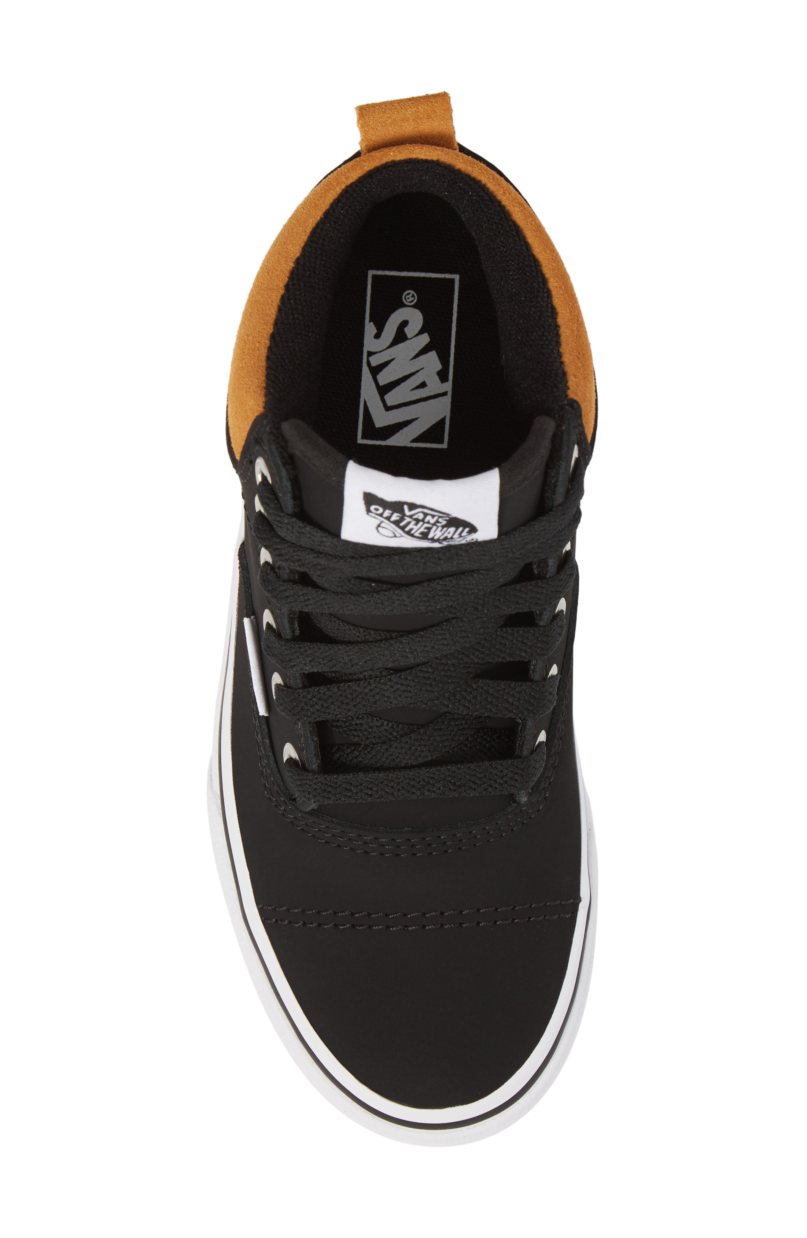 Era - Hi Sneaker,                             Alternate thumbnail 5, color,                             Vansbuck Black/ Cathay Spice