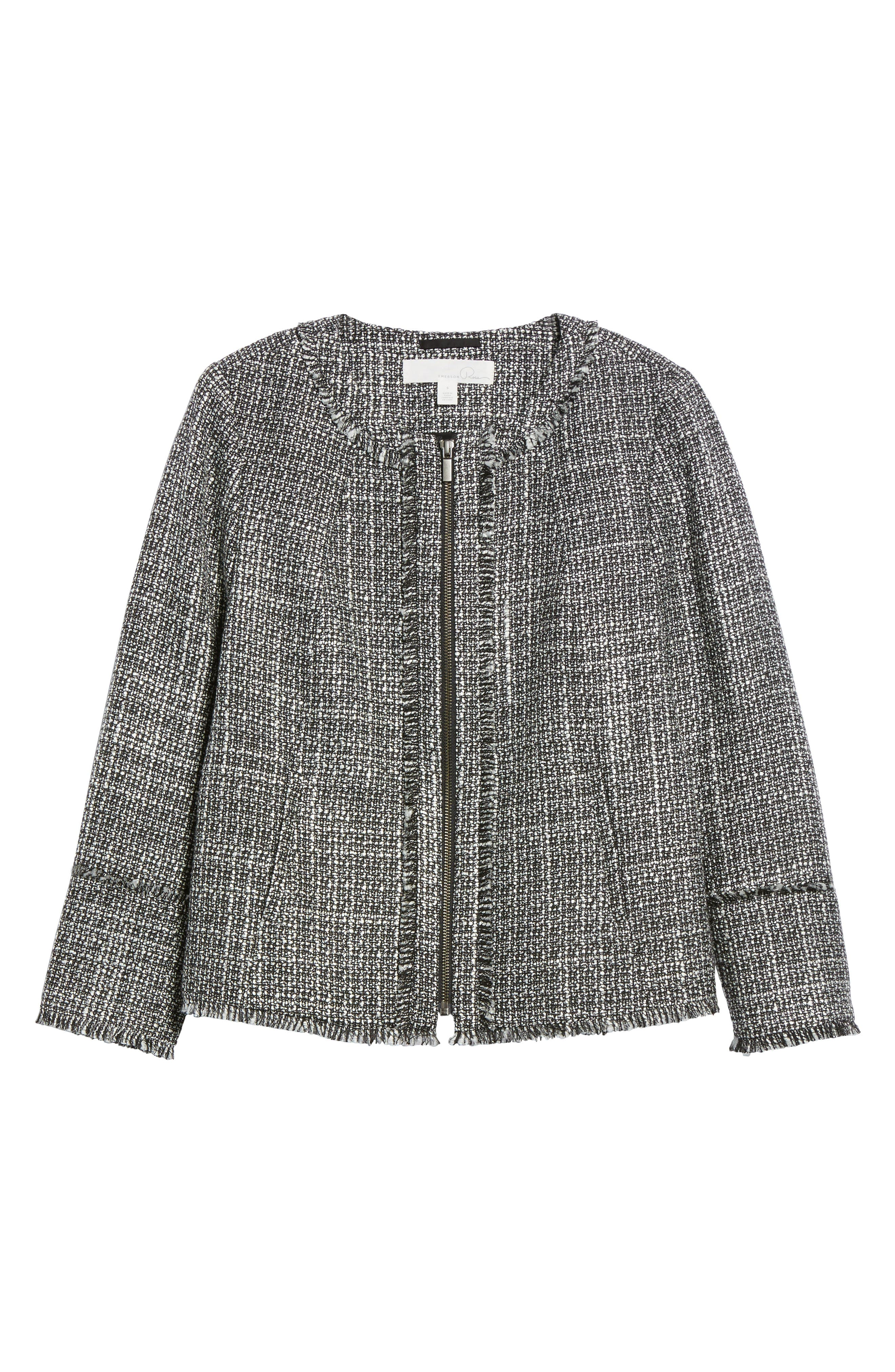 Alternate Image 6  - Emerson Rose Tweed Jacket