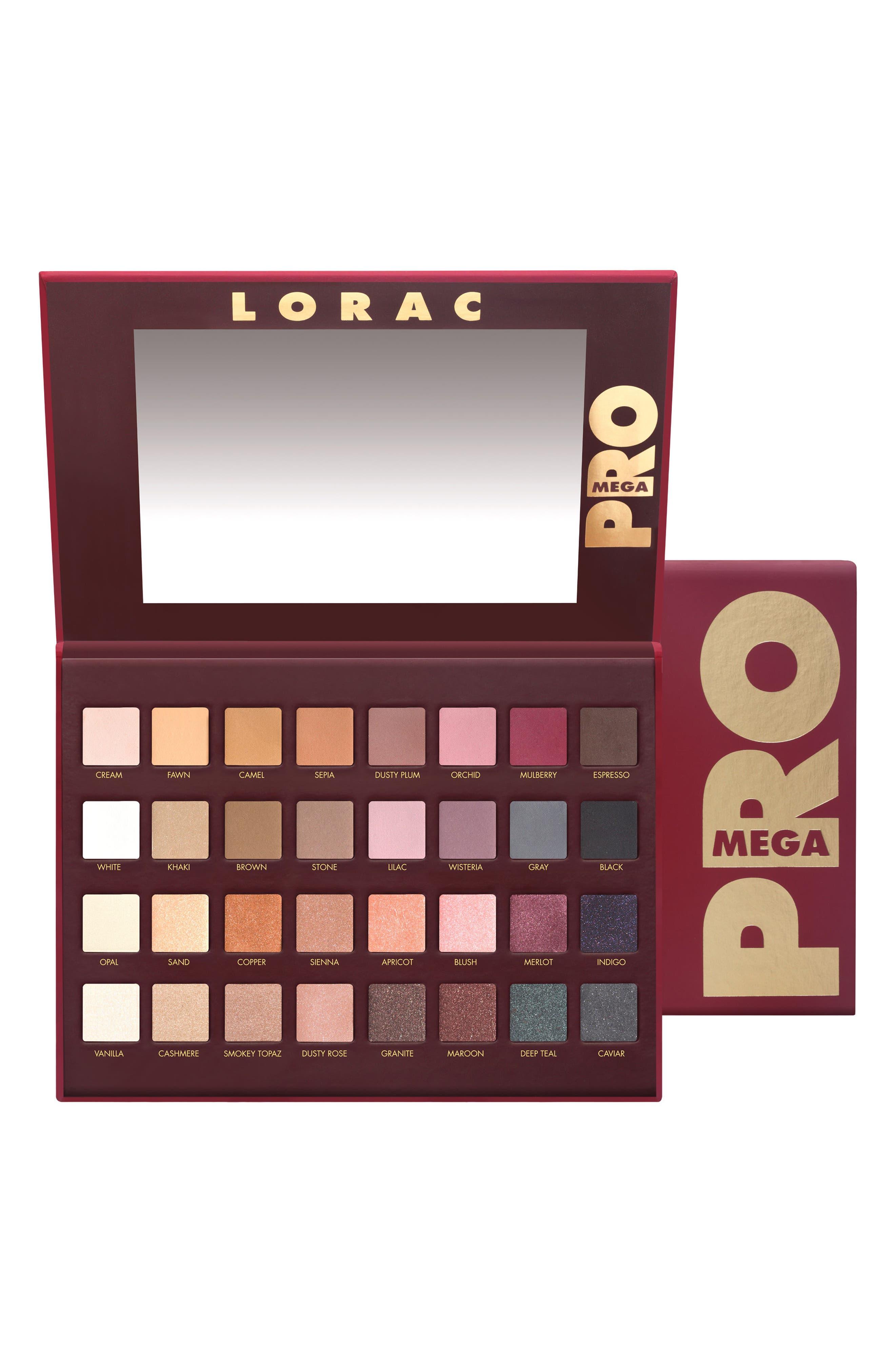 LORAC Mega PRO Palette (Limited Edition) ($224 Value)