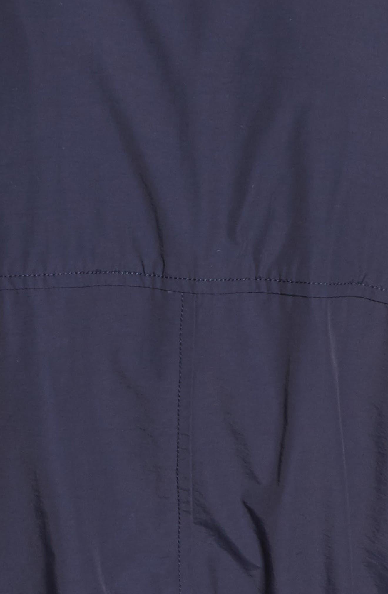 Alternate Image 5  - Eileen Fisher High Collar Long Jacket