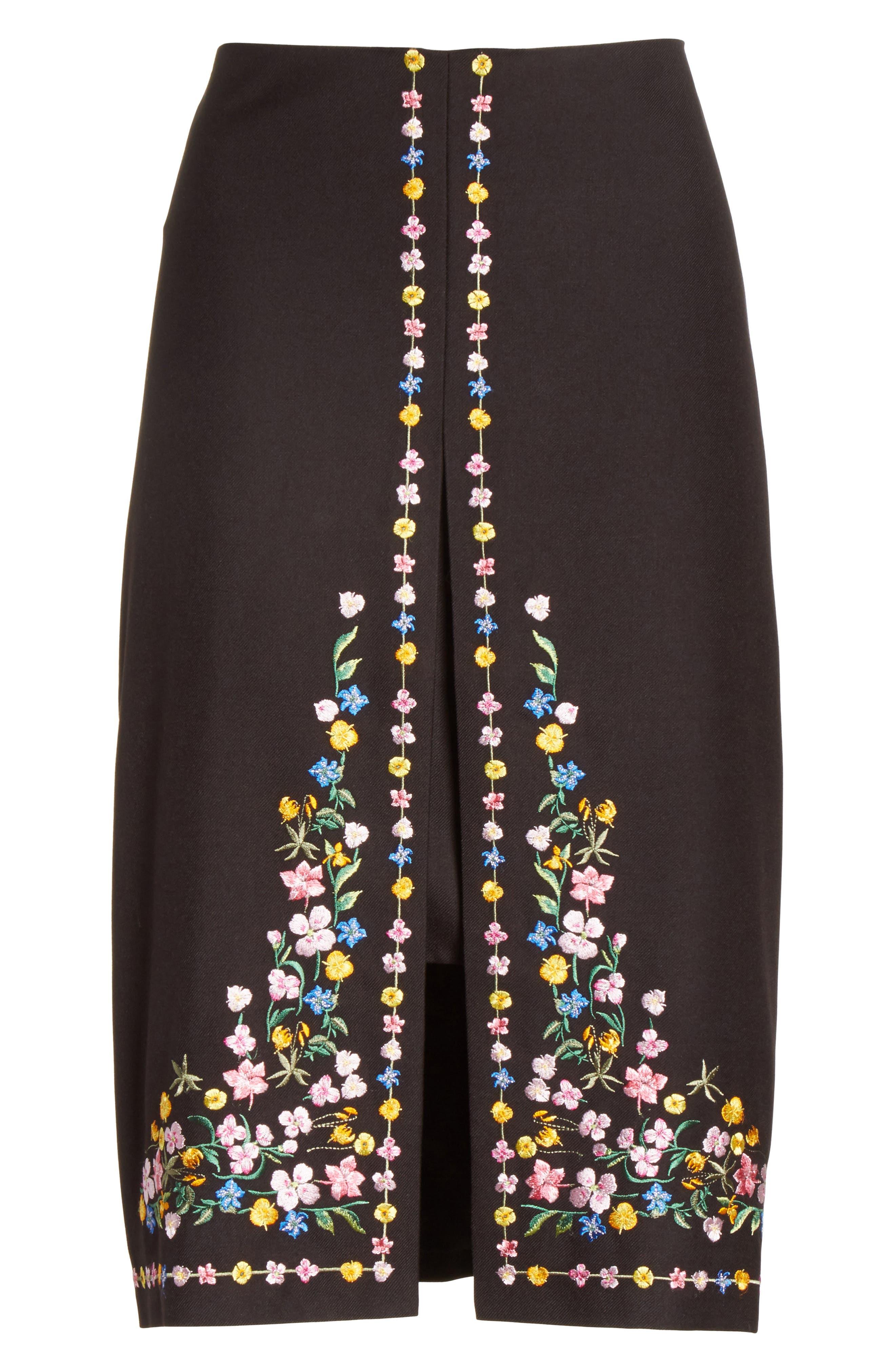 Alternate Image 6  - Ted Baker London Hampton Print A-Line Skirt