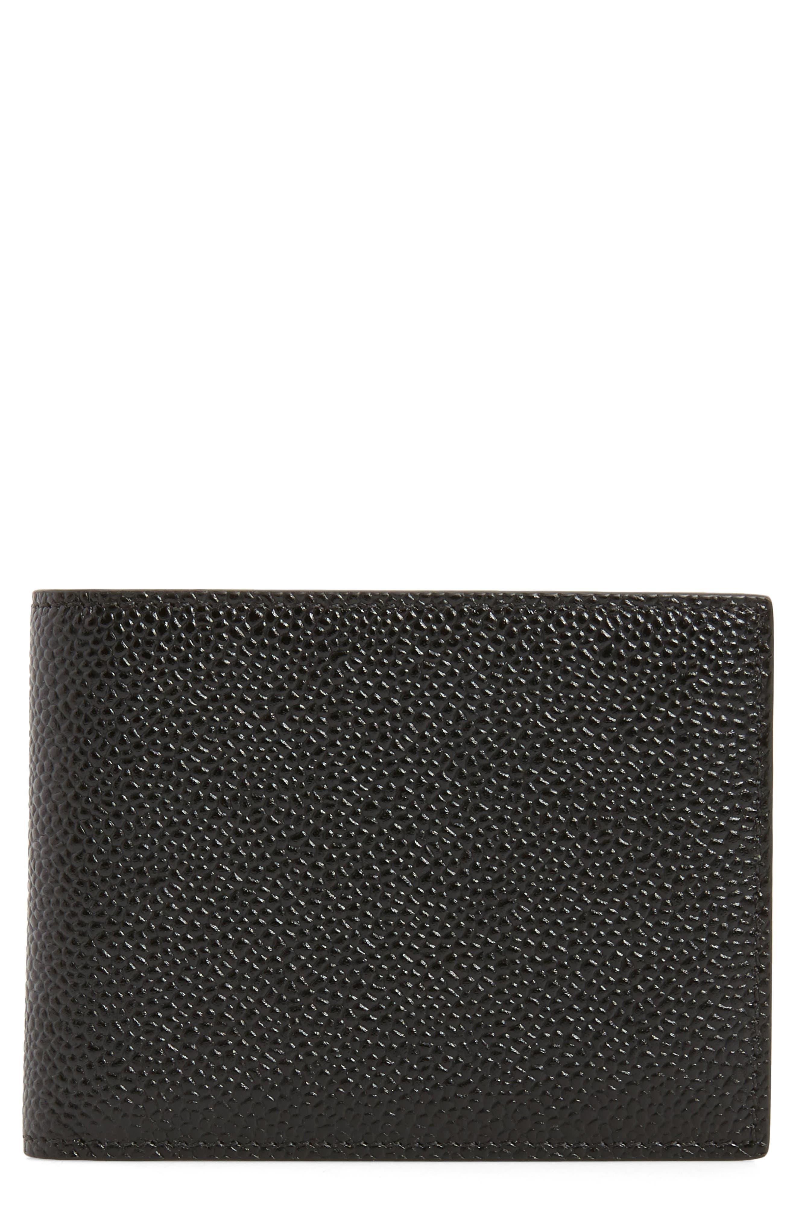 Thom Browne Pebble Grain Leather Wallet