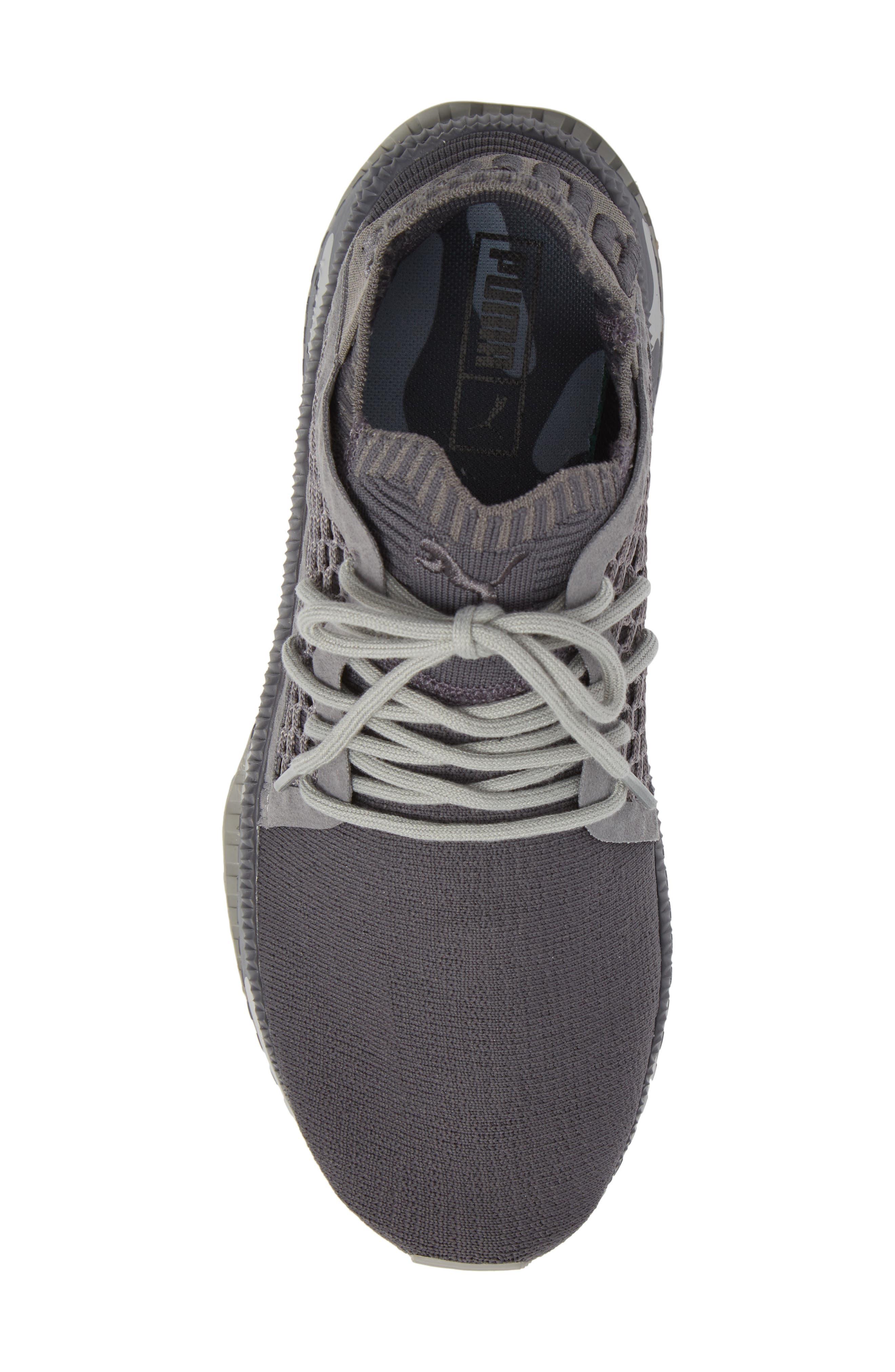 Tsugi Netfit evoKNIT Training Shoe,                             Alternate thumbnail 5, color,                             Quiet Shade-Asphalt
