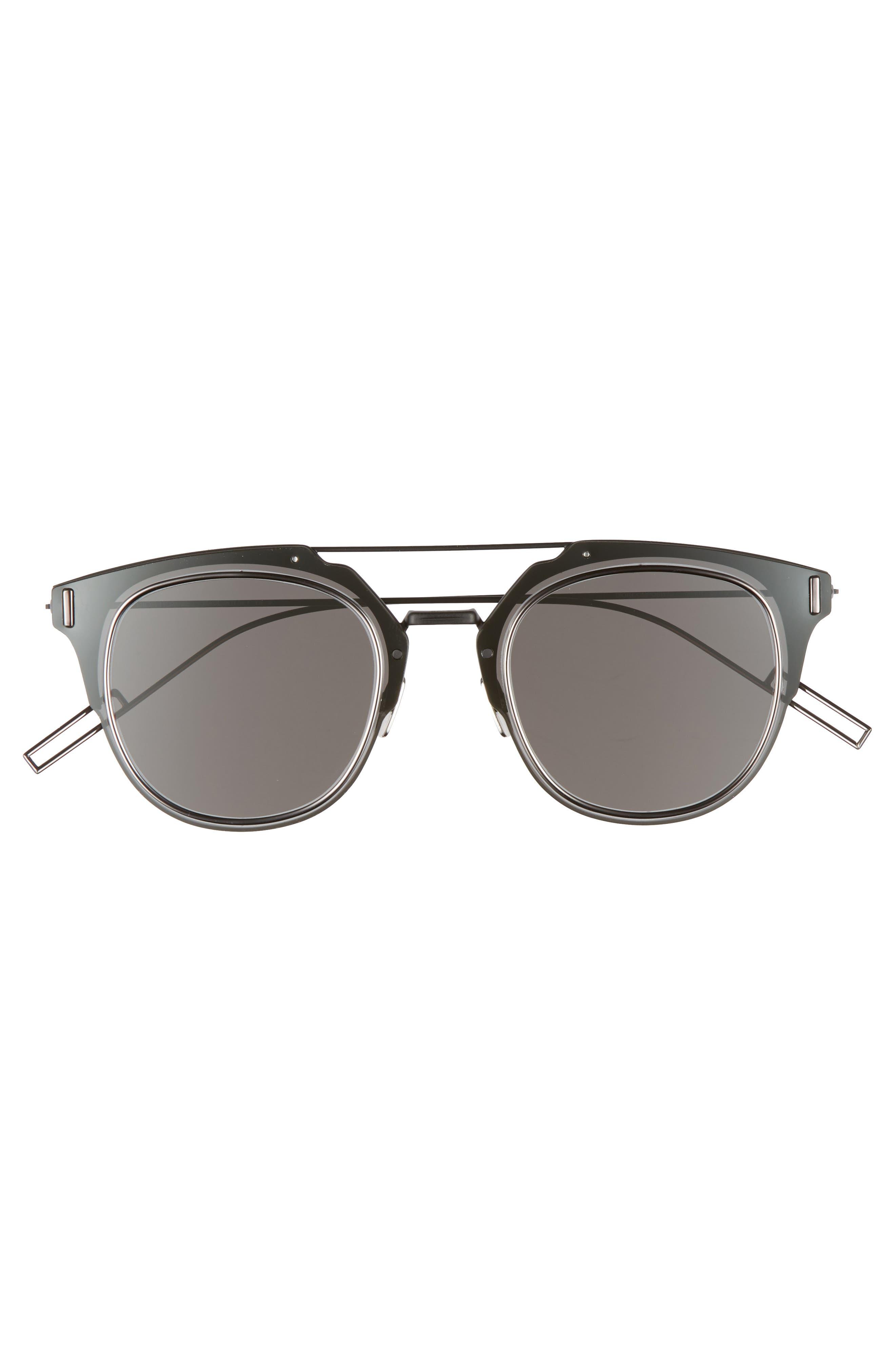 Alternate Image 2  - Dior Homme 'Composit 1.0S' 62mm Metal Shield Sunglasses