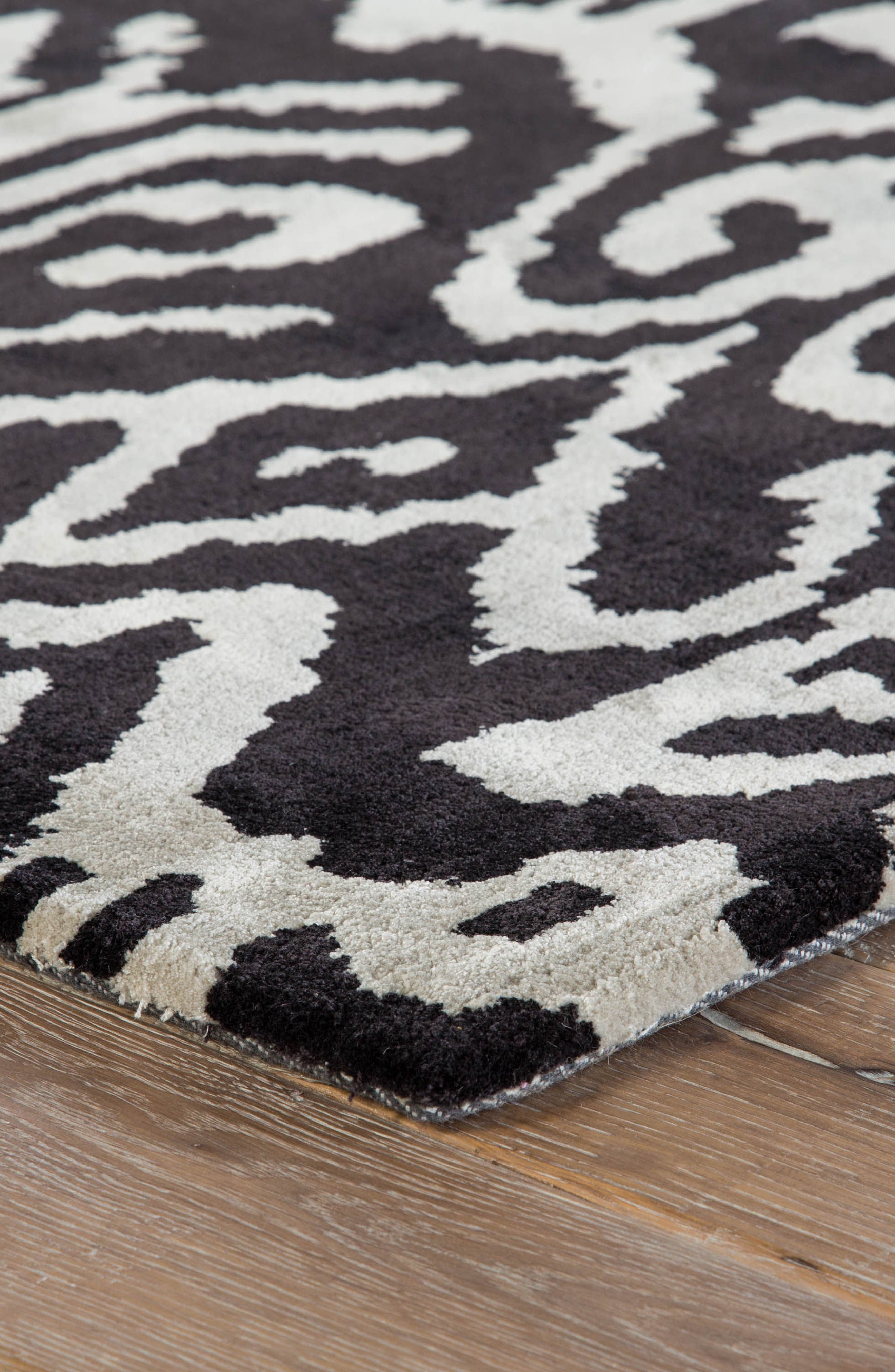 greenpoint caviar rug,                             Alternate thumbnail 2, color,                             Caviar