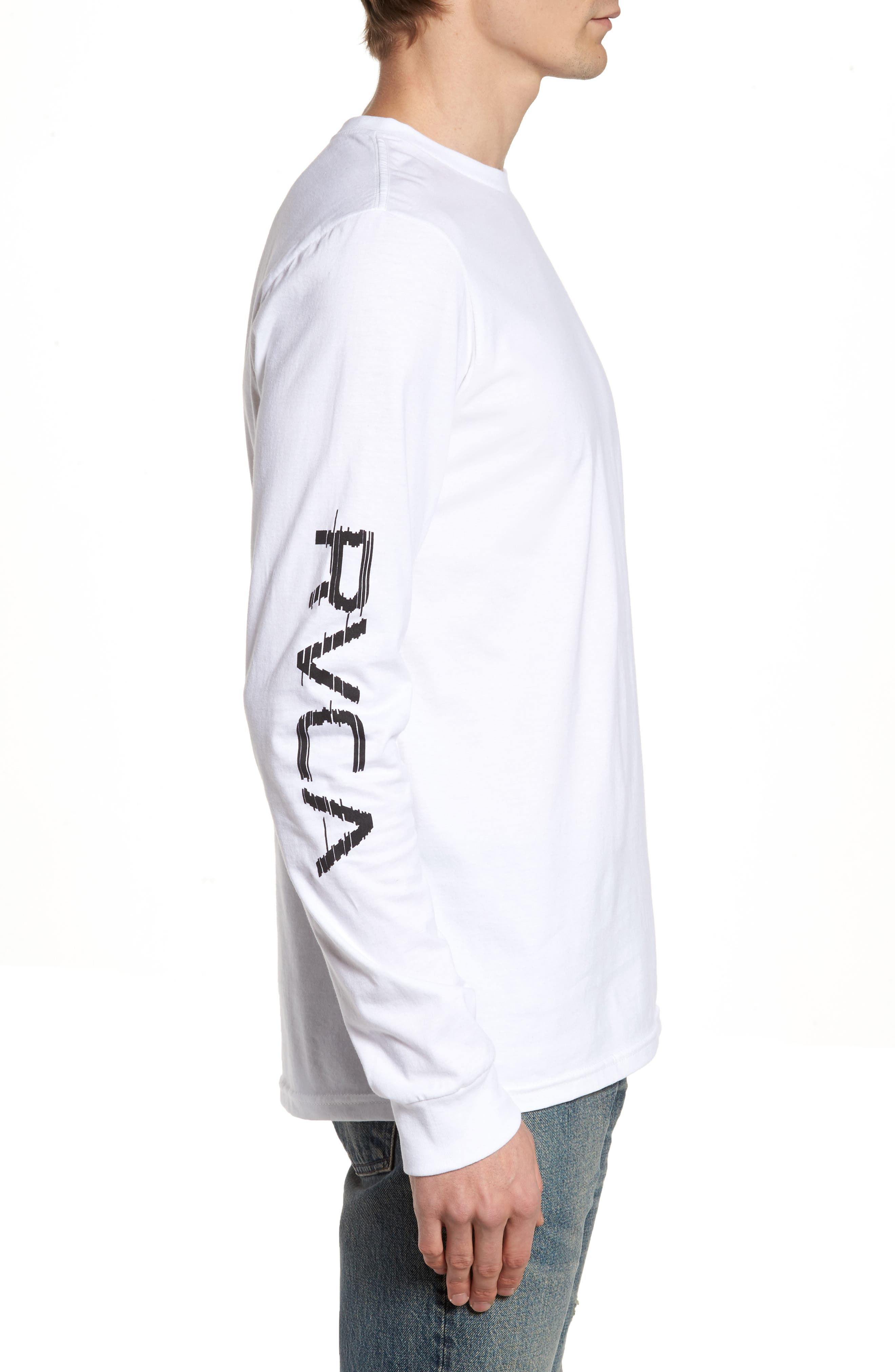 Alternate Image 3  - RVCA Glitch Logo T-Shirt