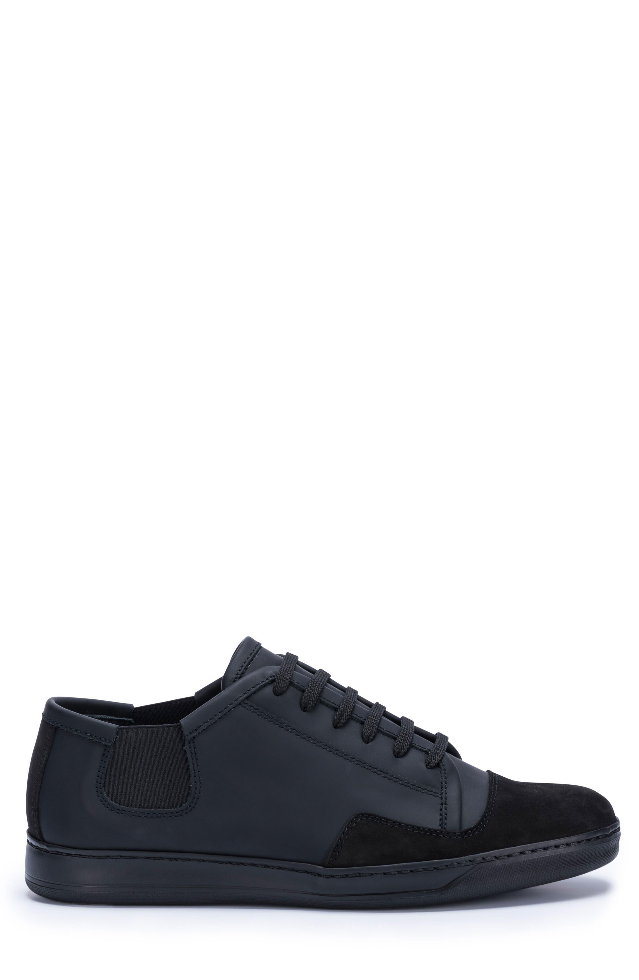 Bellagio Sneaker,                             Alternate thumbnail 3, color,                             Black