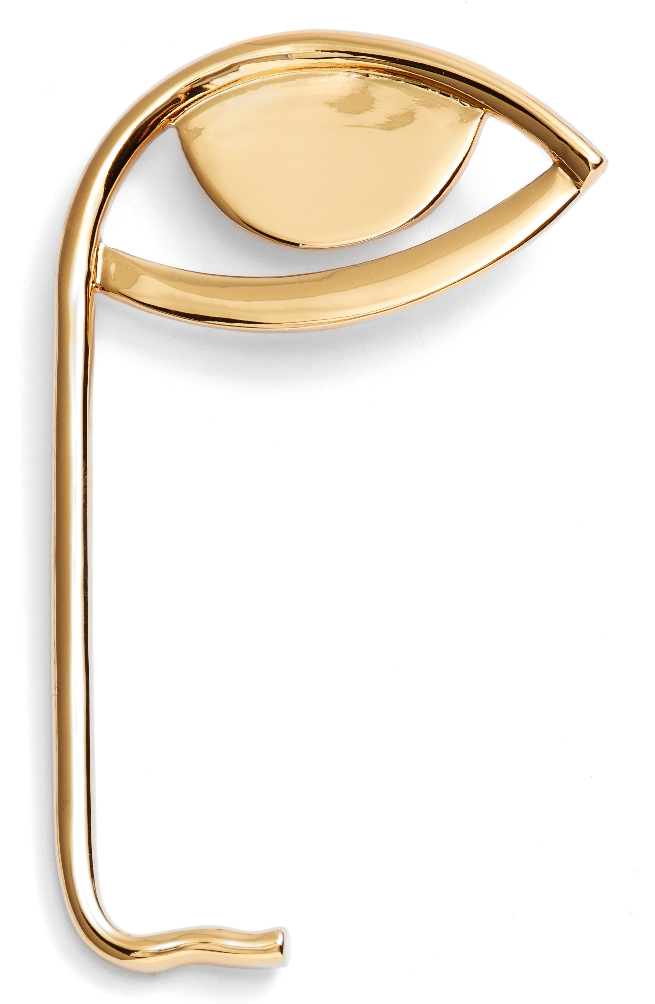 La Vue Pin,                         Main,                         color, Gold