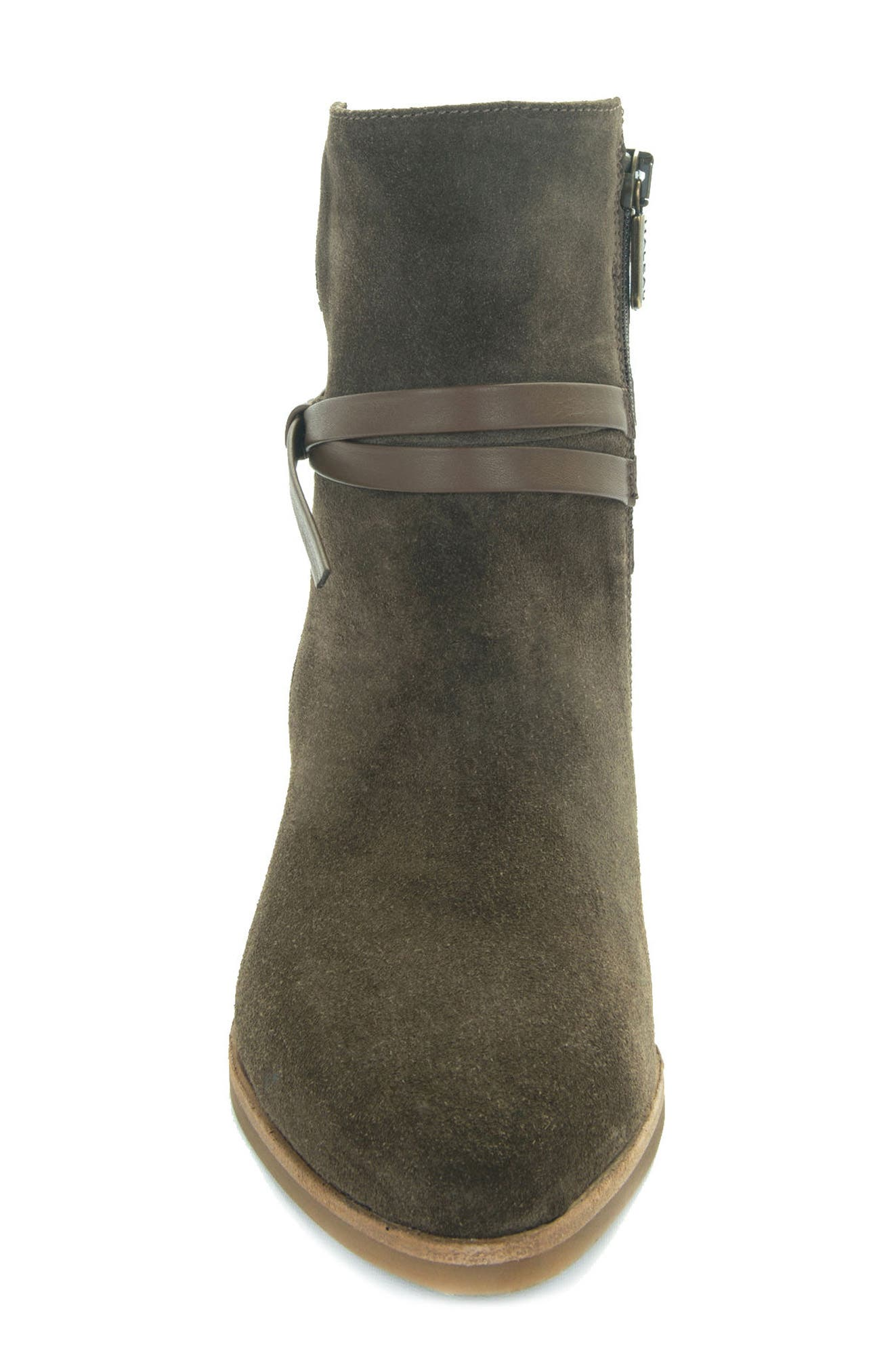 Donata Water-Resistant Bootie,                             Alternate thumbnail 4, color,                             Militare/ Green
