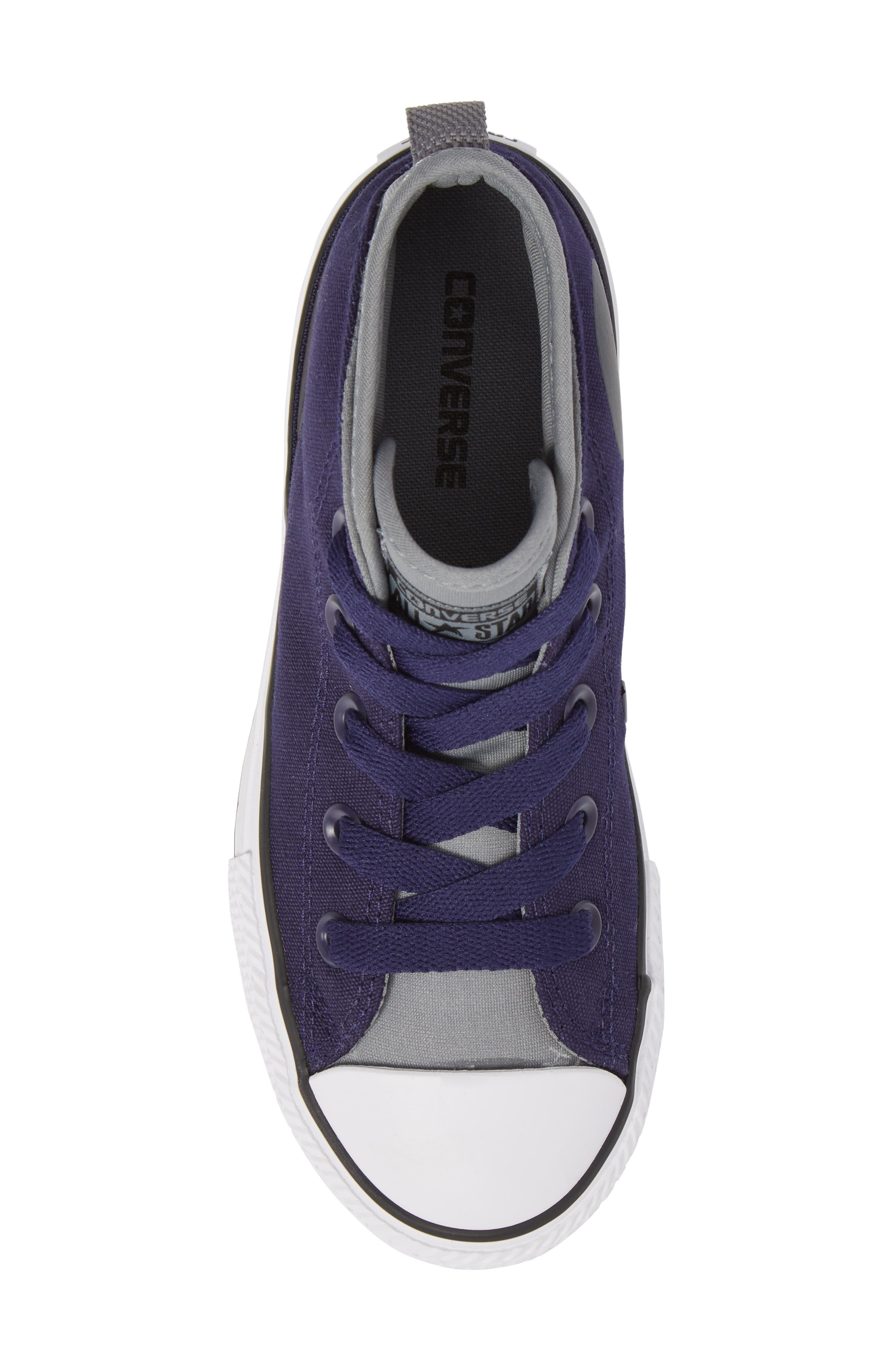 Chuck Taylor<sup>®</sup> All Star<sup>®</sup> Syde Street High Top Sneaker,                             Alternate thumbnail 5, color,                             Midnight Canvas