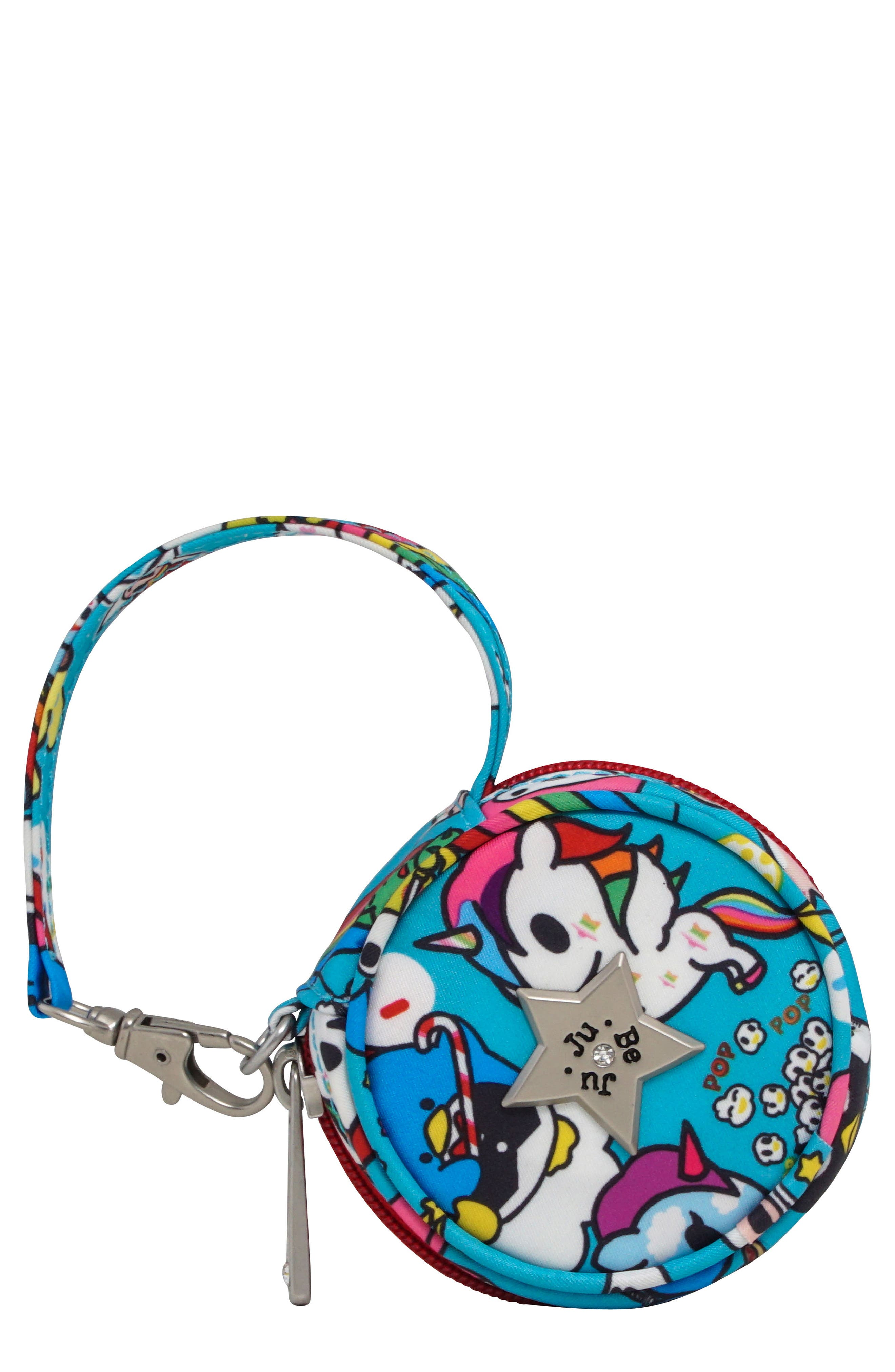 x tokidoki for Hello Sanrio Rainbow Dreams Paci Pod Pouch,                             Main thumbnail 1, color,                             Rainbow Dreams
