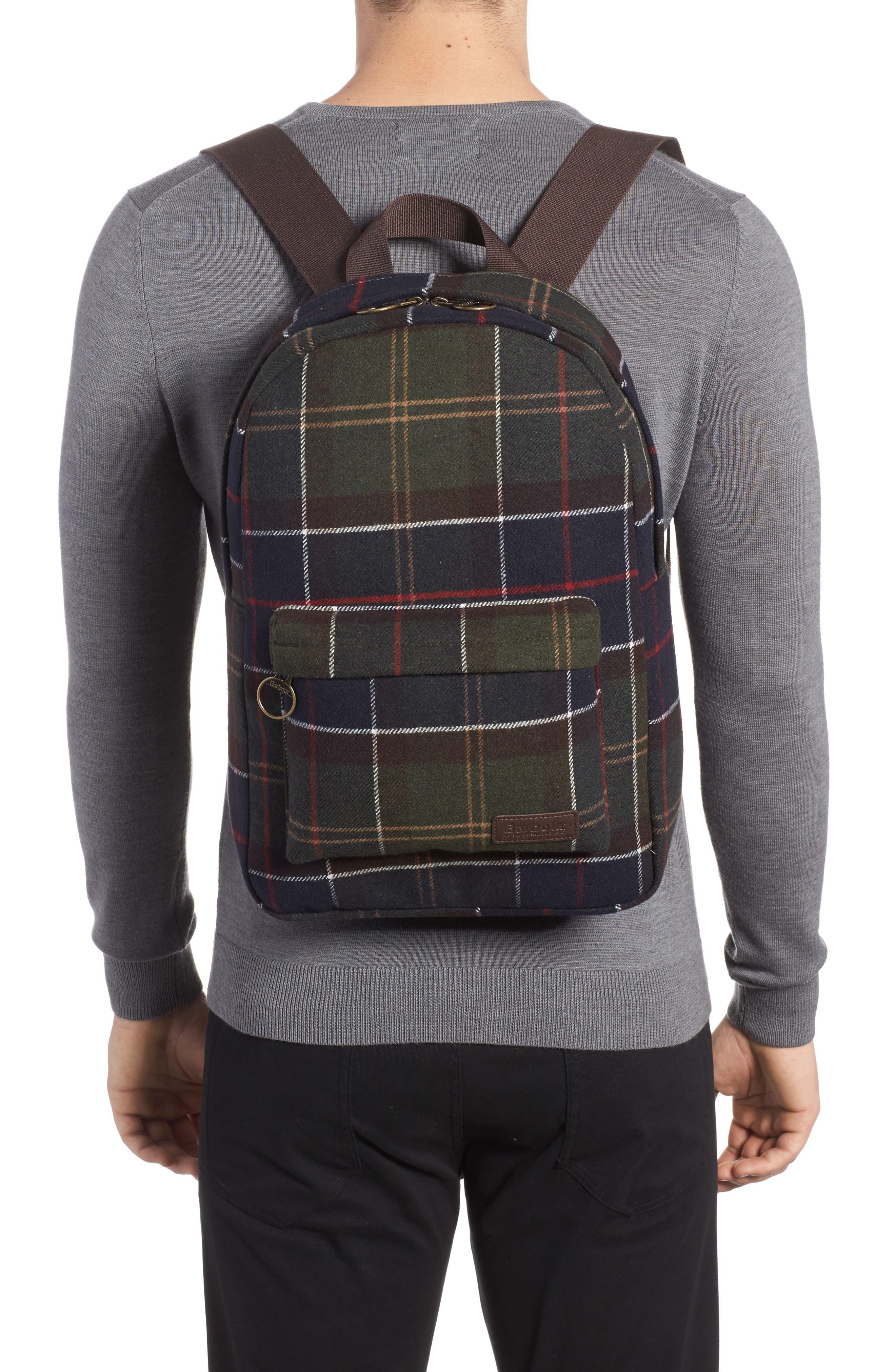Carrbridge Backpack,                             Alternate thumbnail 2, color,                             Classic Tartan