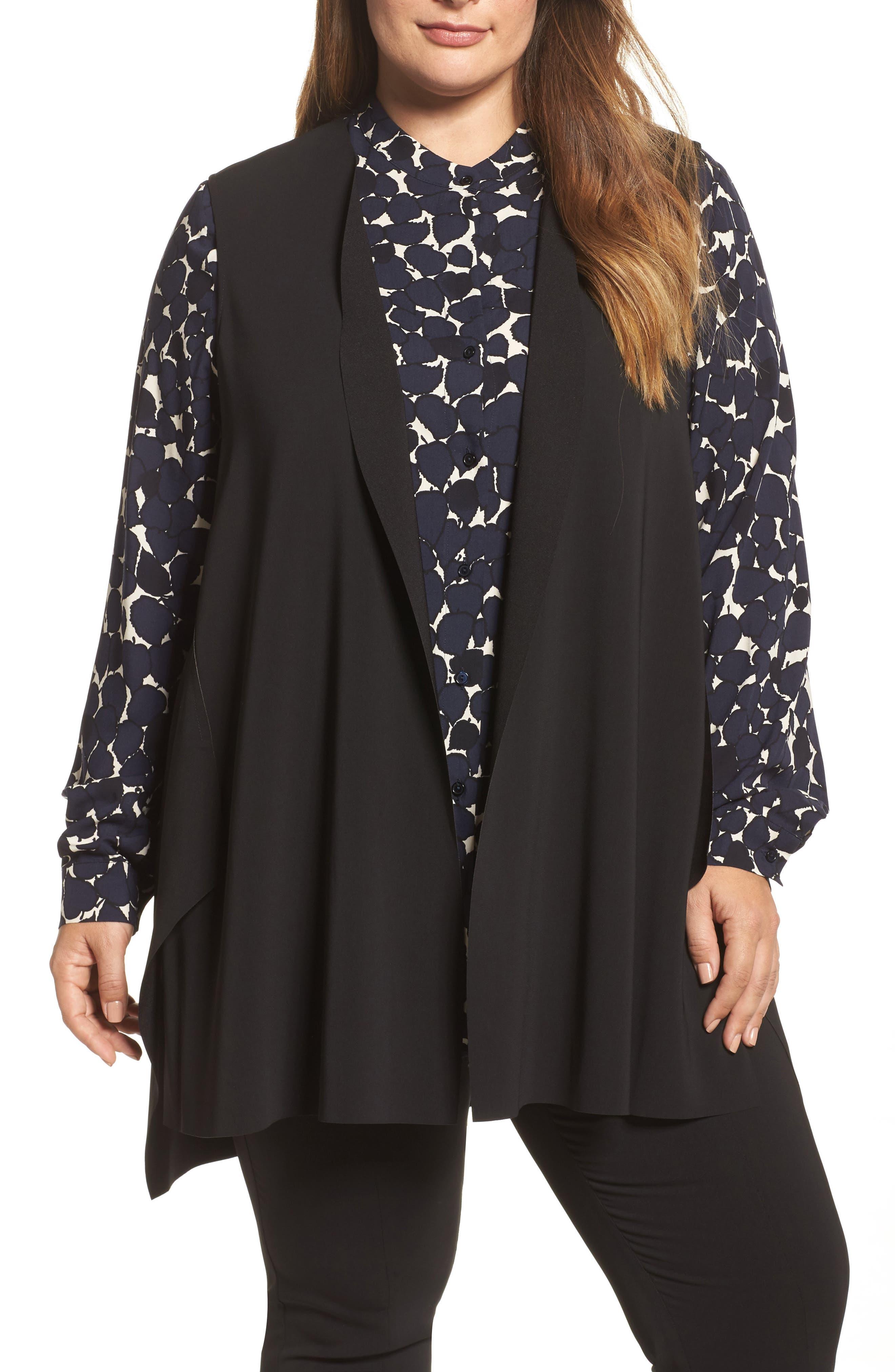 Gemma Vest,                         Main,                         color, Black