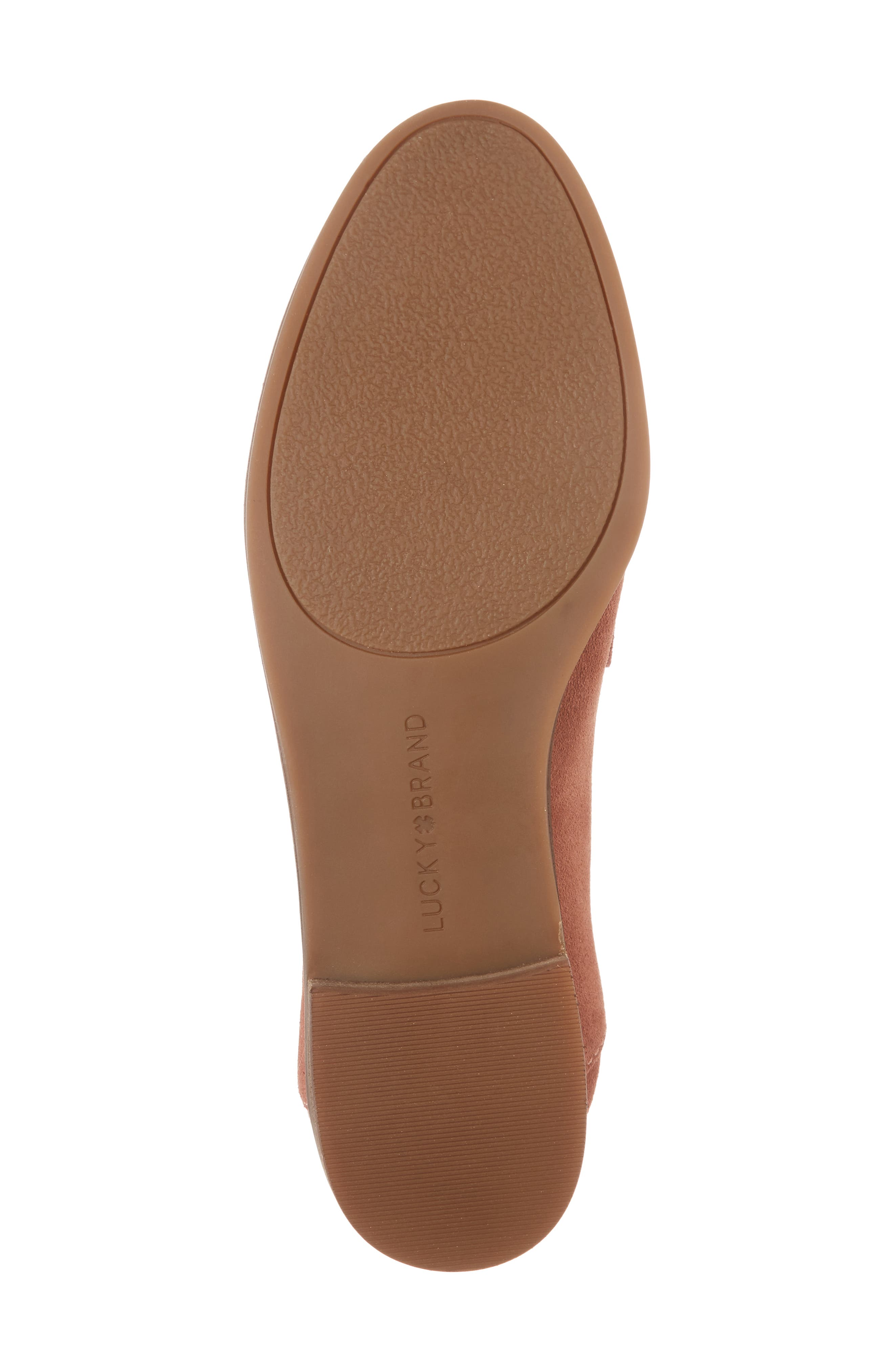 Callister Loafer,                             Alternate thumbnail 6, color,                             Canyon Rose Suede