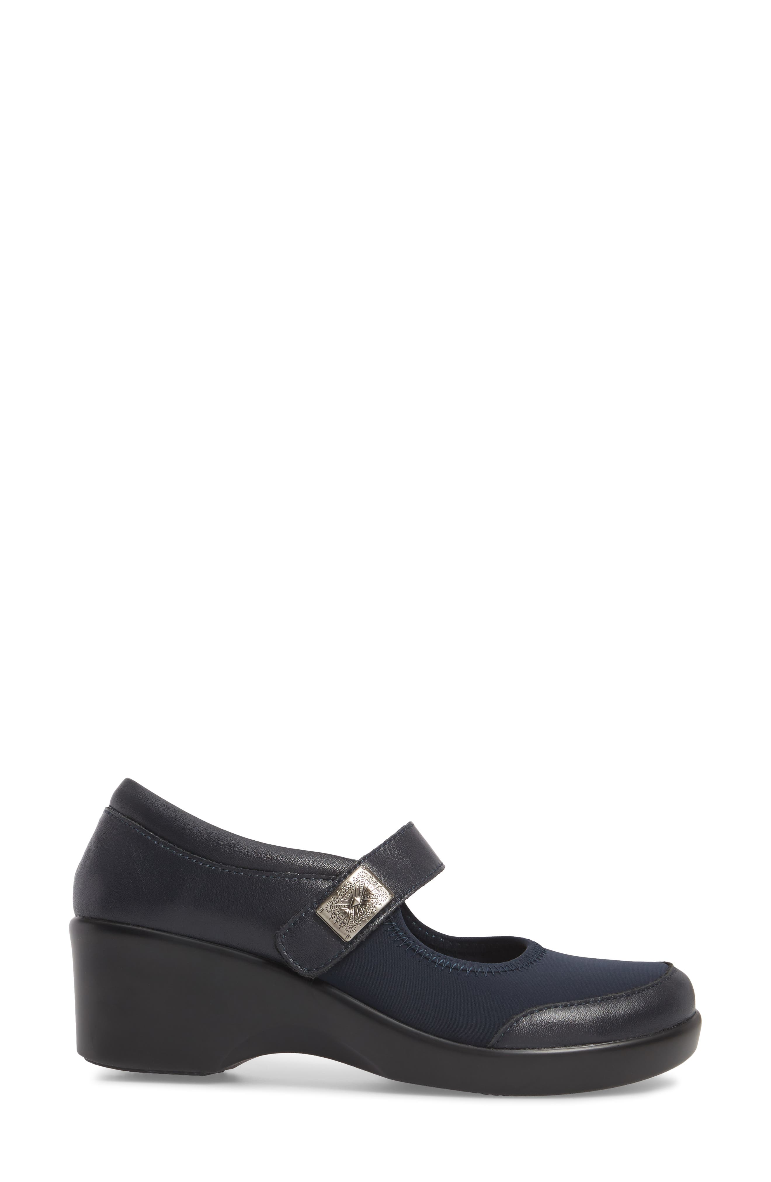 by PG Lite Maya Mary Jane Pump,                             Alternate thumbnail 3, color,                             Slate Leather