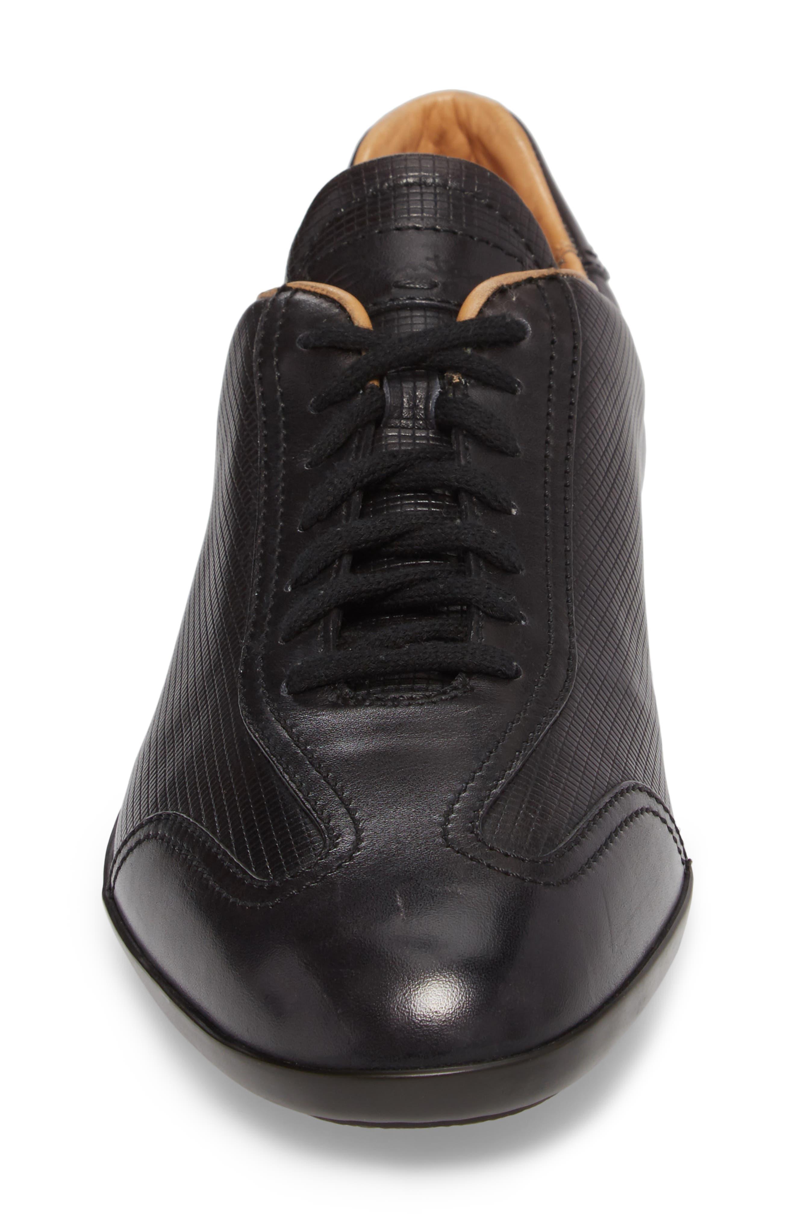 'Cortez' Sneaker,                             Alternate thumbnail 4, color,                             Brown Leather