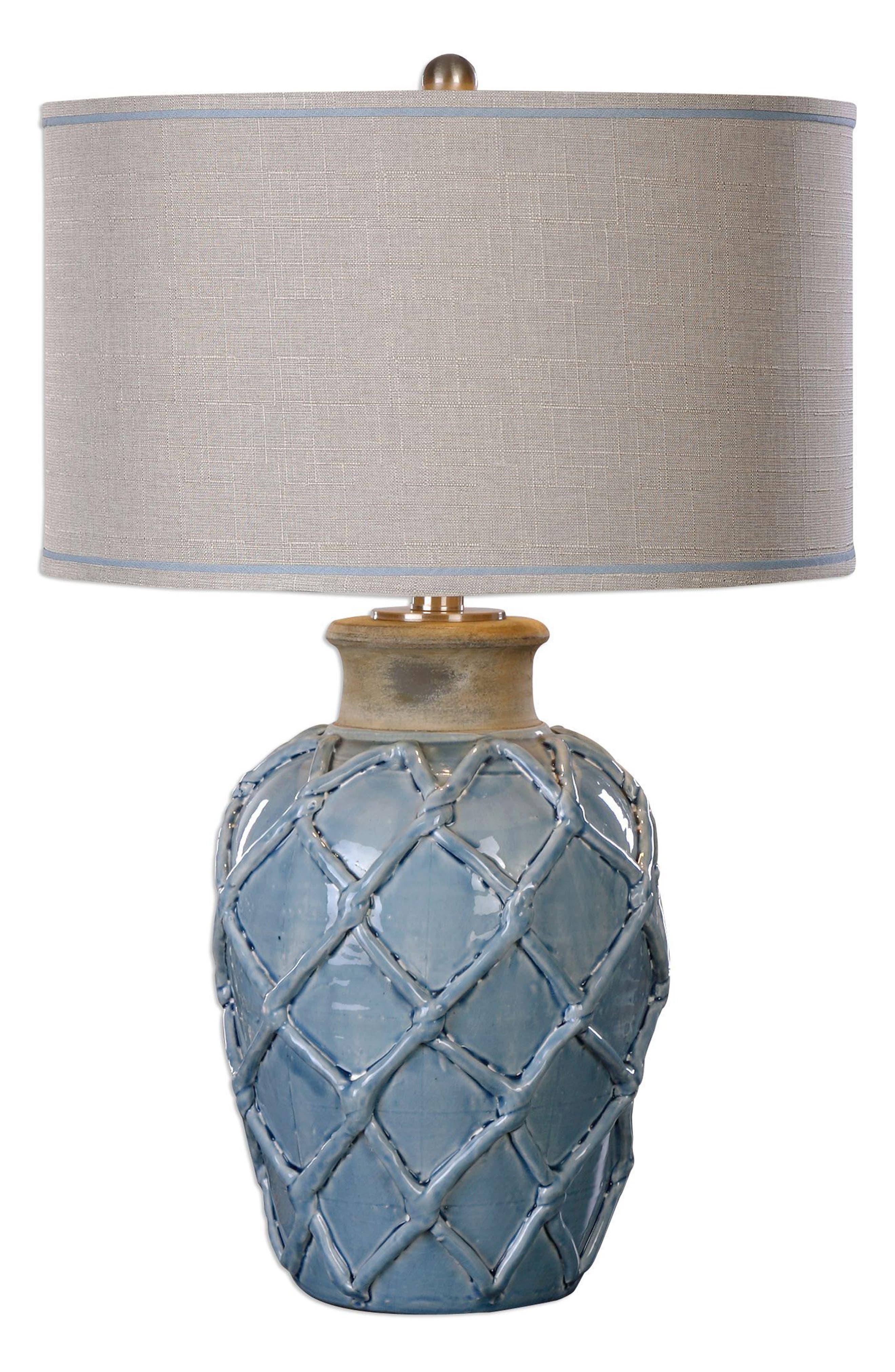 Parterre Table Lamp,                         Main,                         color, Blue