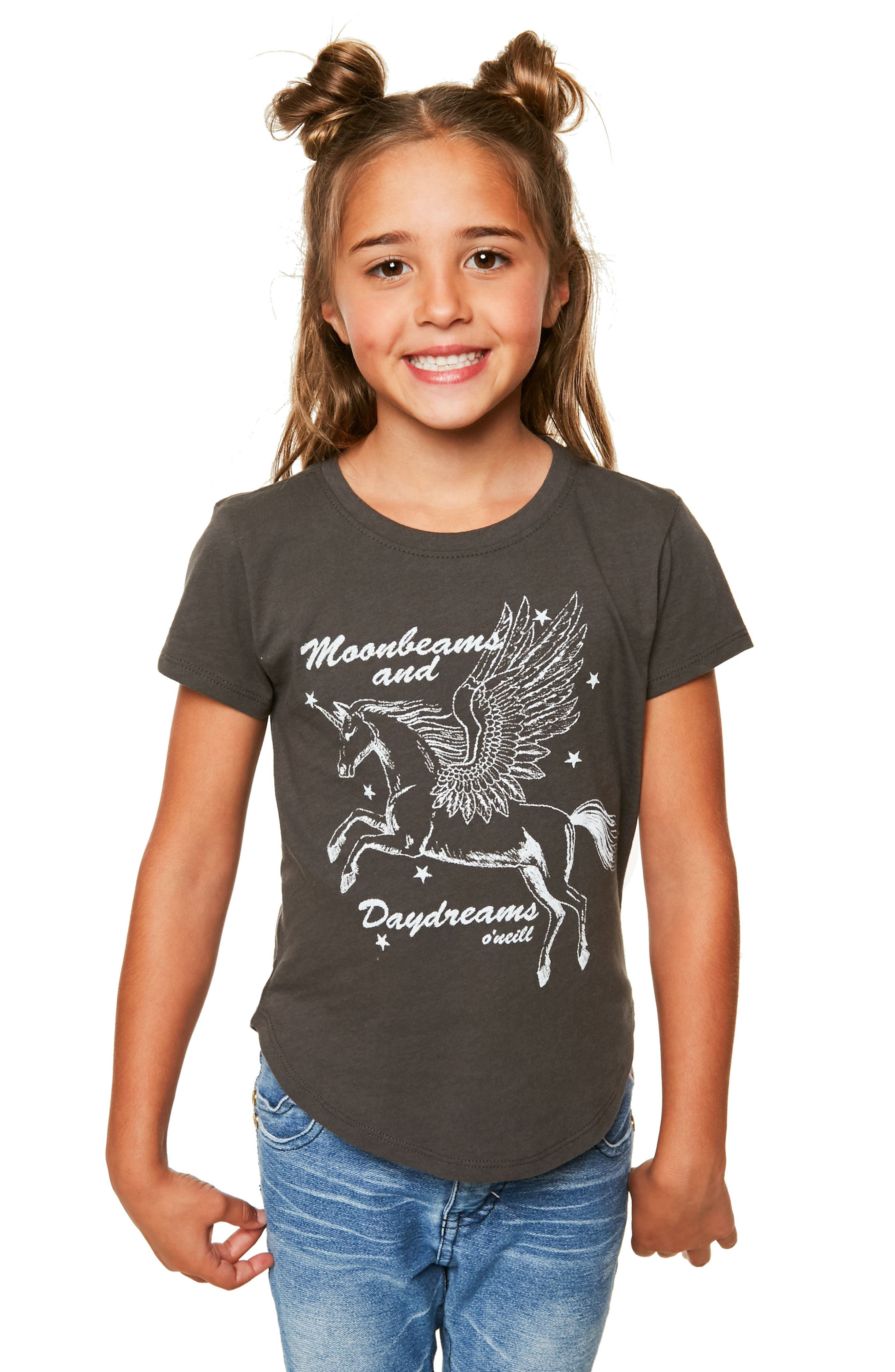 Alternate Image 3  - O'Neill Moonbeams and Daydreams Graphic Tee (Toddler Girls & Little Girls)