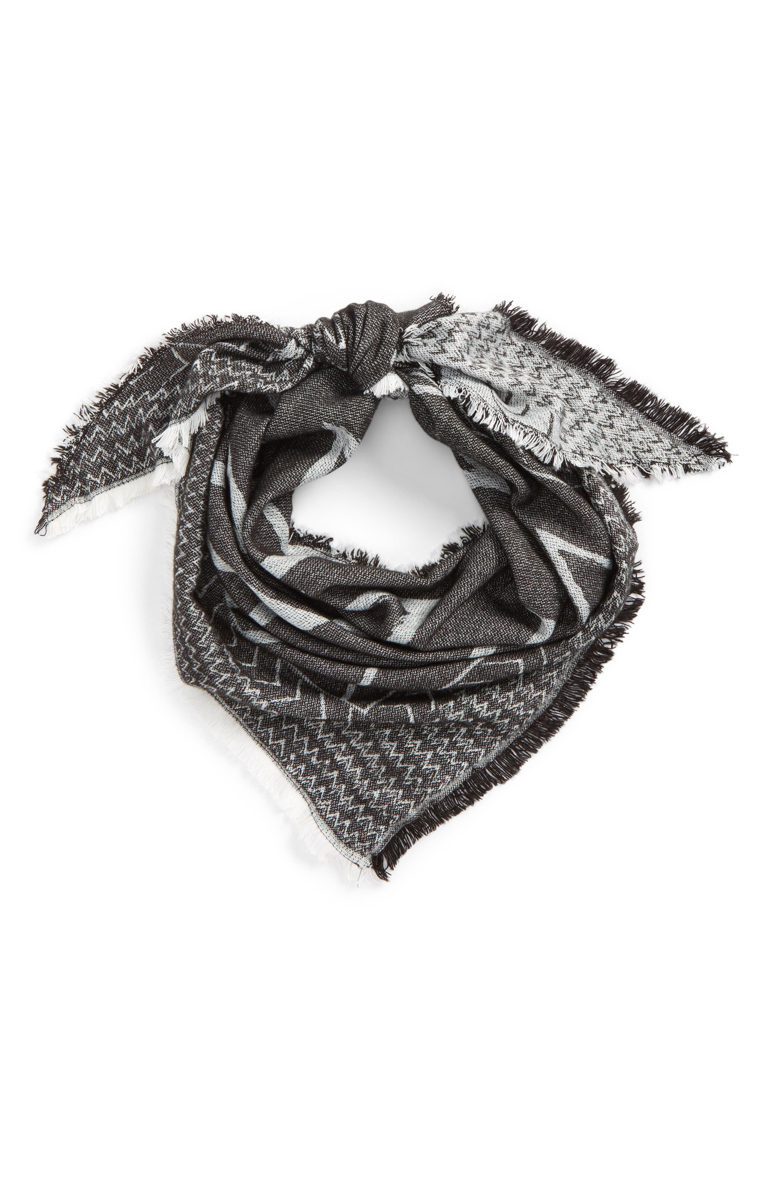 Alternate Image 1 Selected - David & Young Chevron Square Scarf
