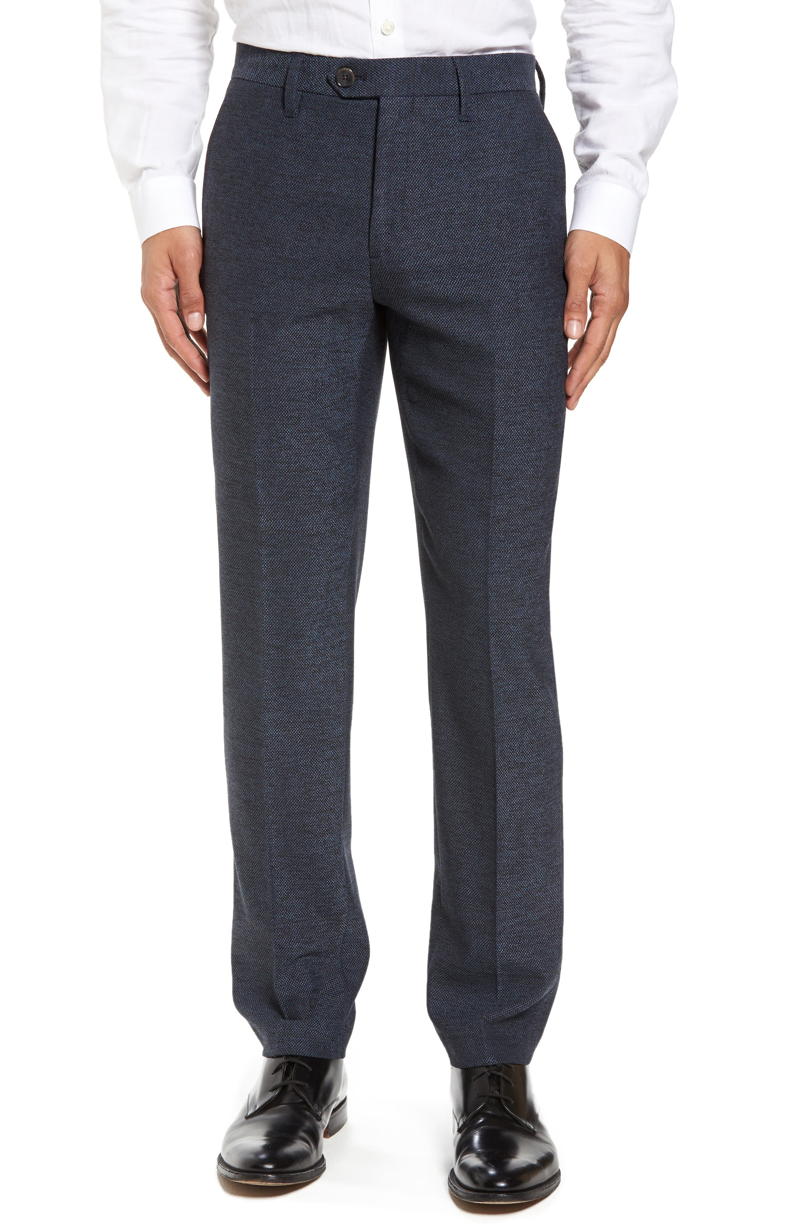 Alternate Image 1 Selected - Ted Baker London Porttro Modern Slim Fit Trousers