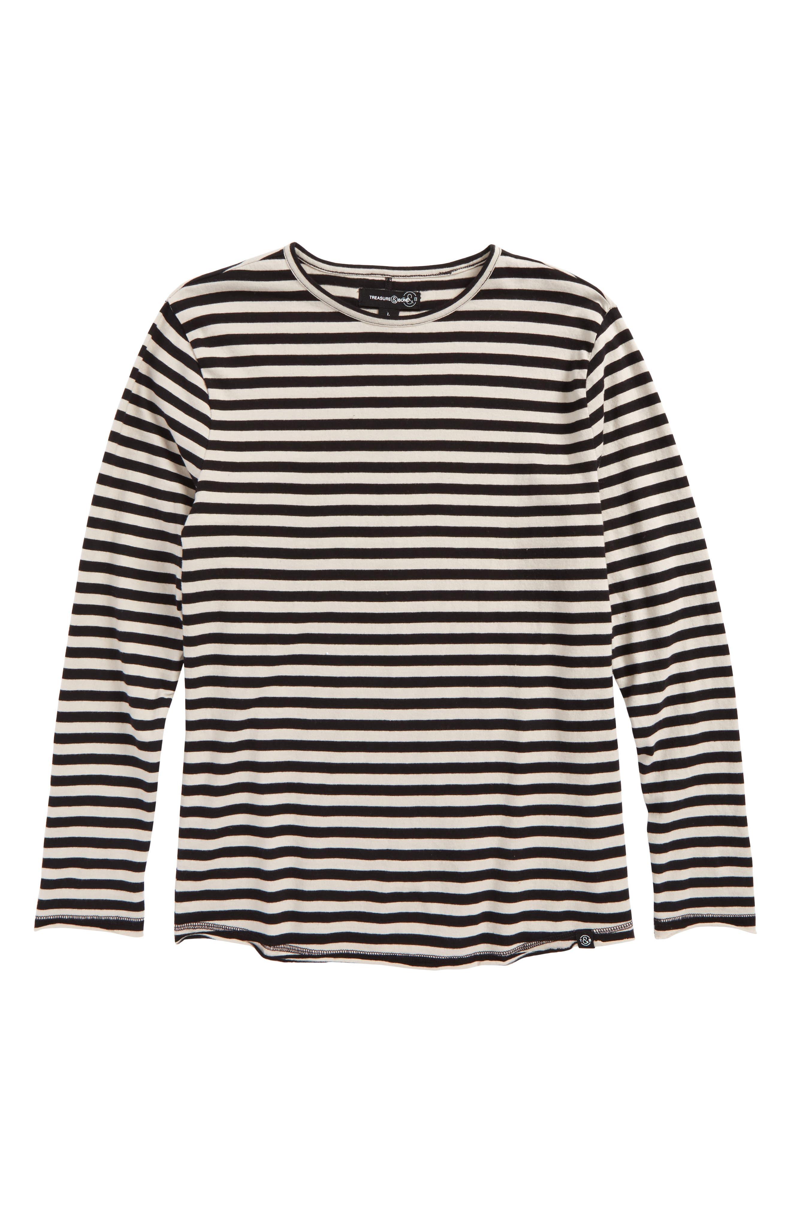Main Image - Treasure & Bond Stripe T-Shirt (Big Boys)