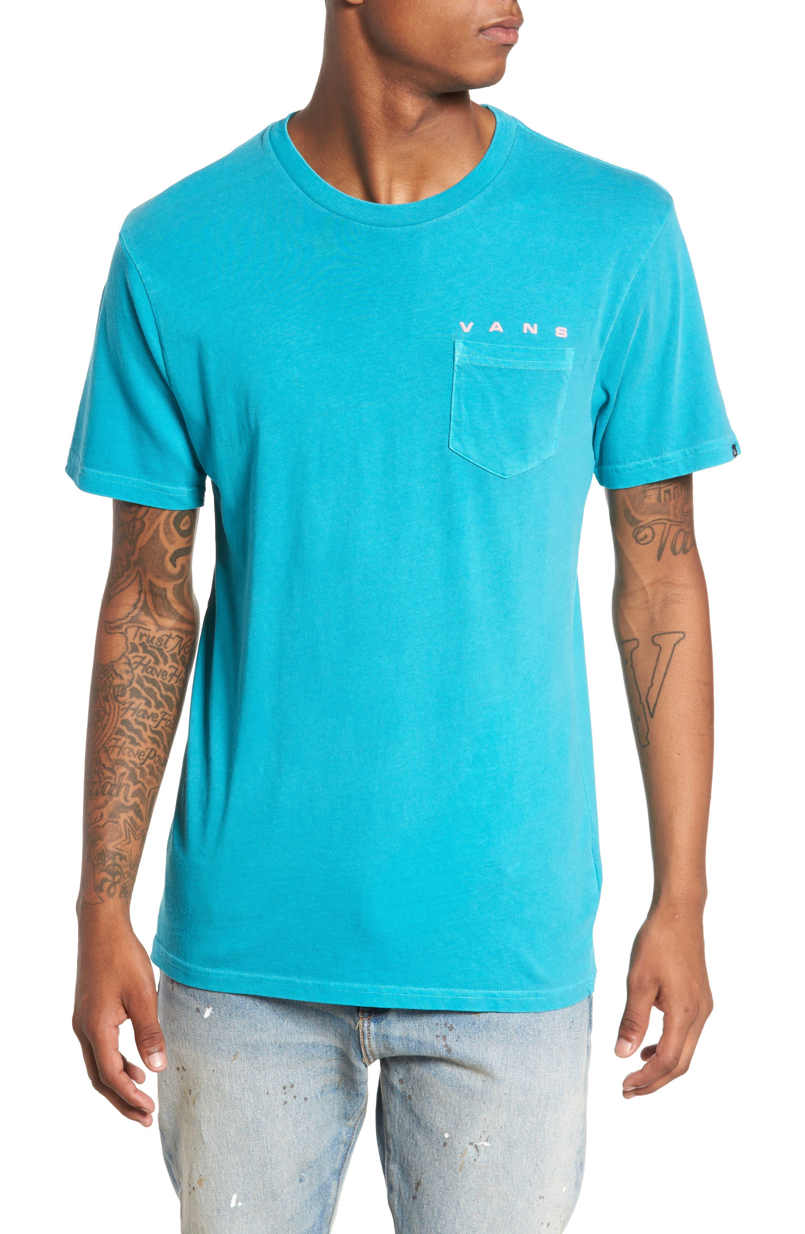 Sky Eye T-Shirt,                         Main,                         color, Tile Blue