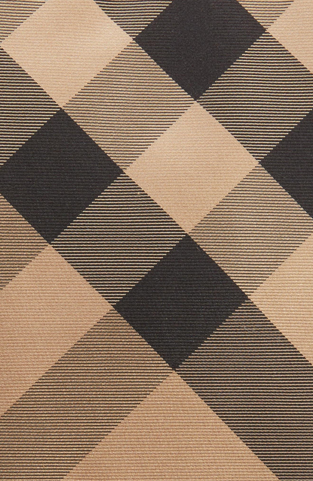Manston Check Silk Tie,                             Alternate thumbnail 2, color,                             Camel Check