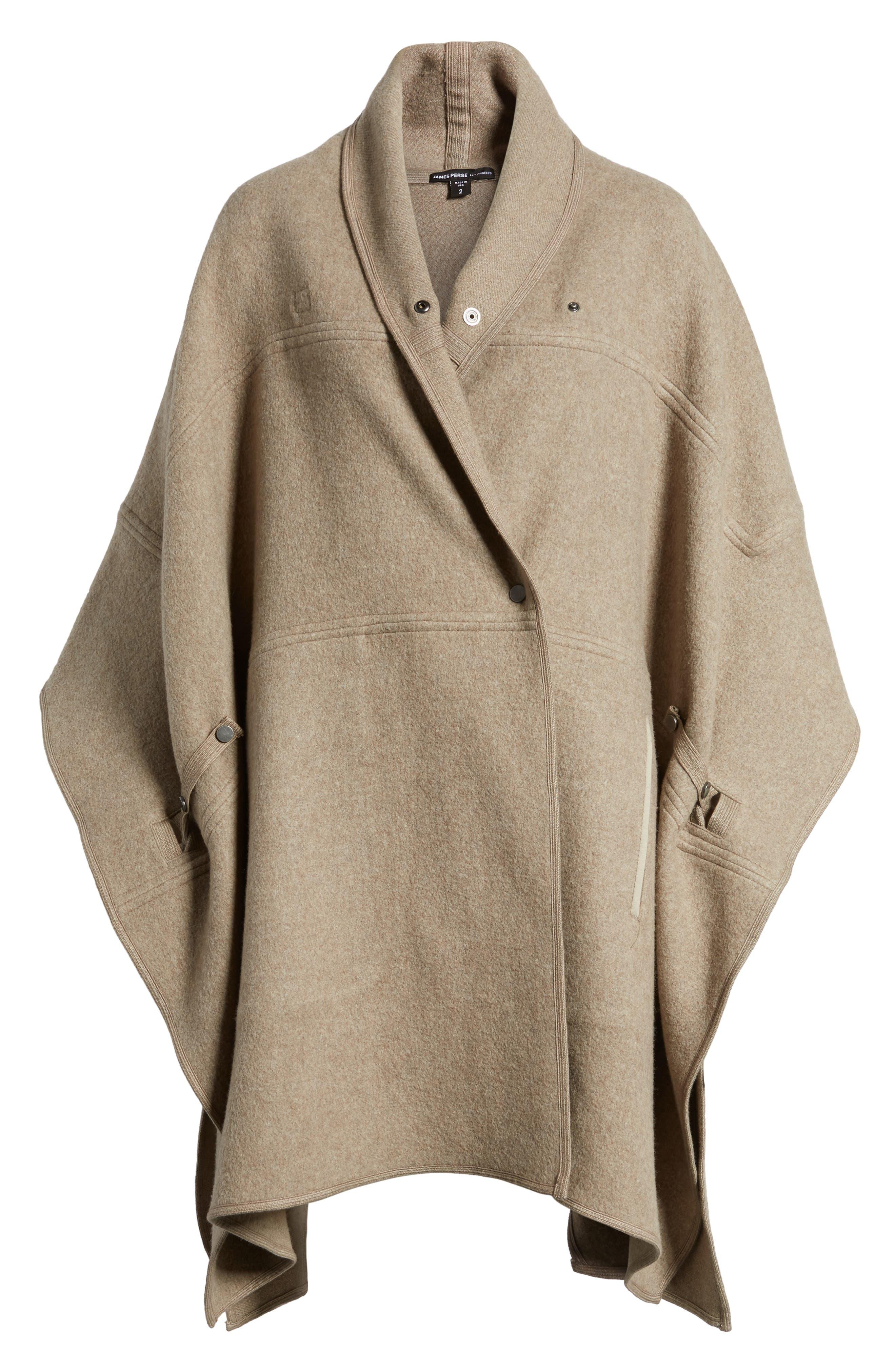 Alternate Image 6  - James Perse Nomad Blanket Coat