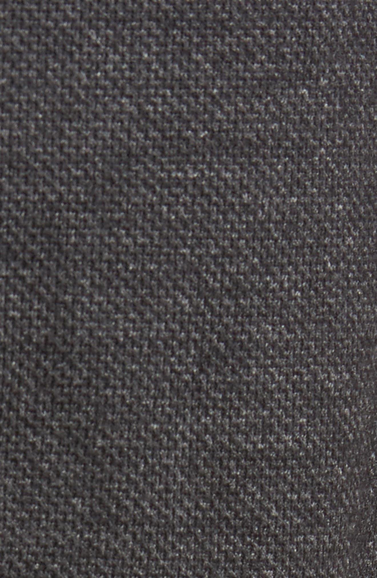Drawstring Dress Pants,                             Alternate thumbnail 5, color,                             Dark Melange