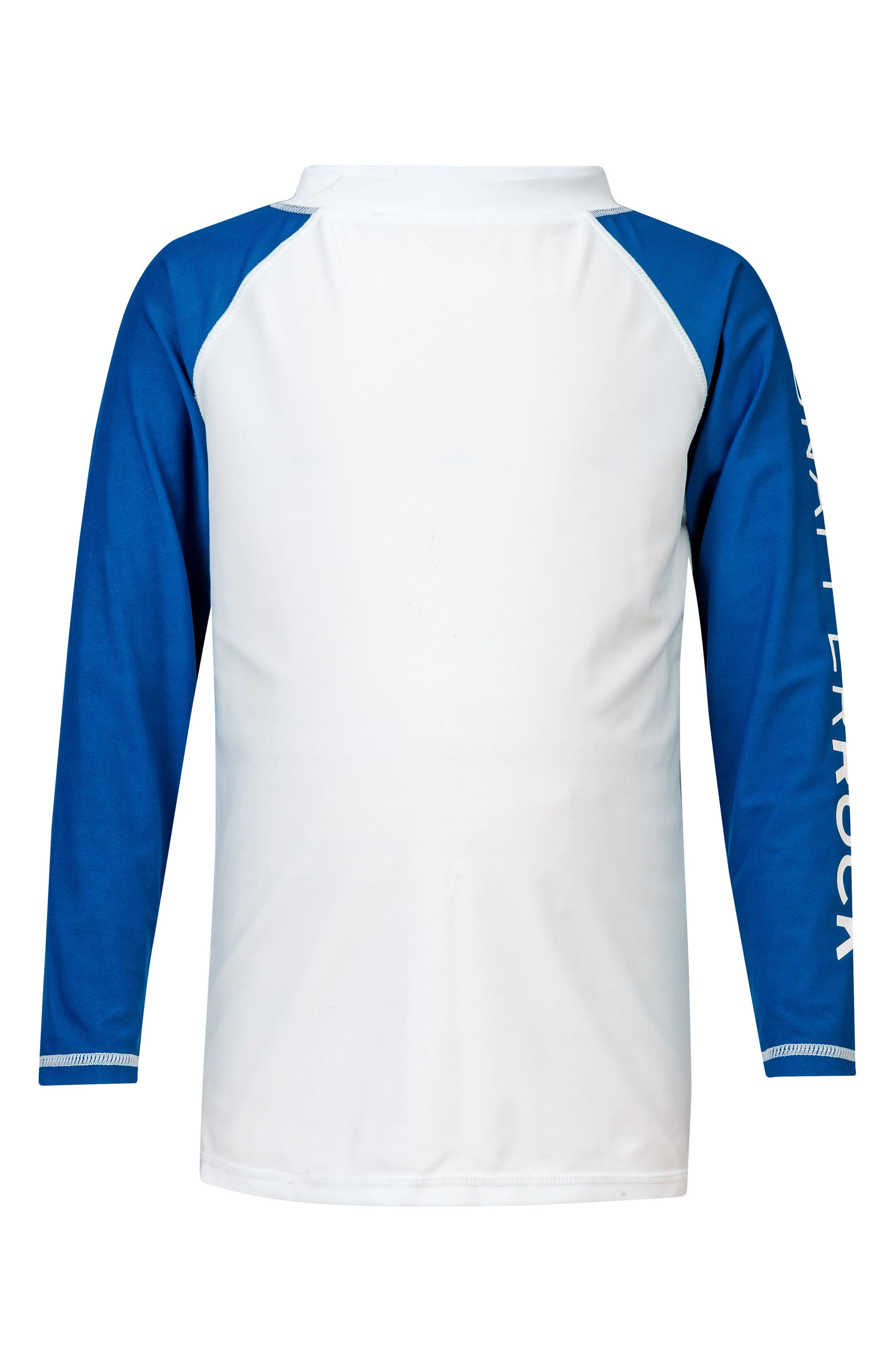 Snapper Rock Contrast Long Sleeve Rashguard (Baby Boys, Toddler Boys & Little Boys)